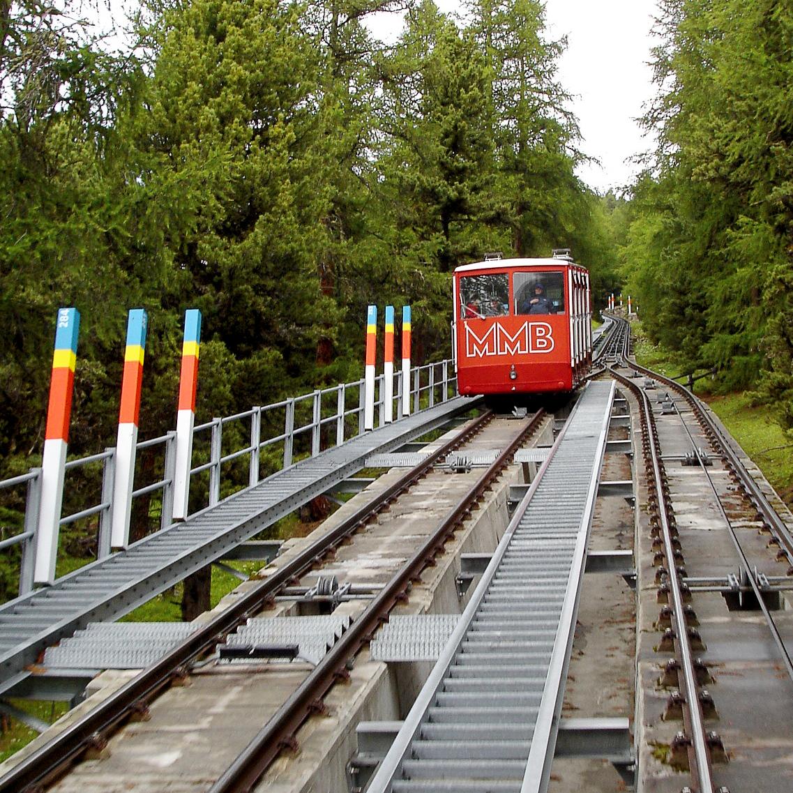 Celerina Bergbahnen Bahn