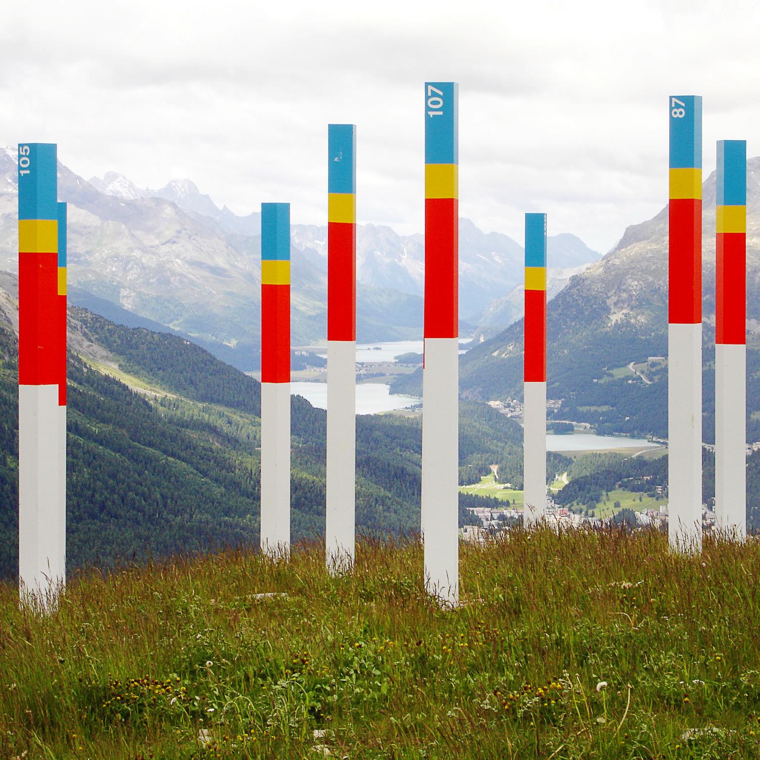Celerina Bergbahnen Land-Marker
