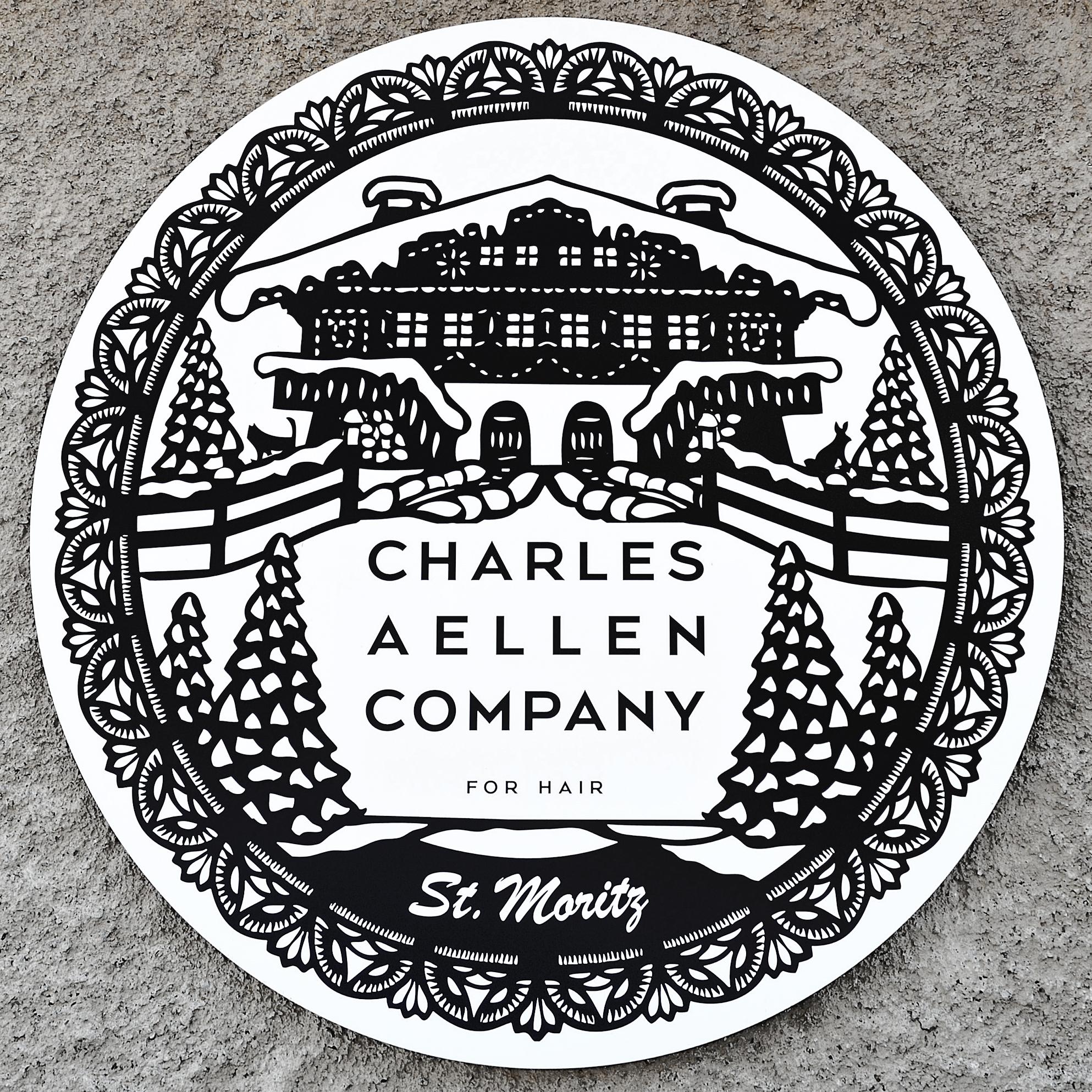 Charles St Moritz Pop-Up Store Logo