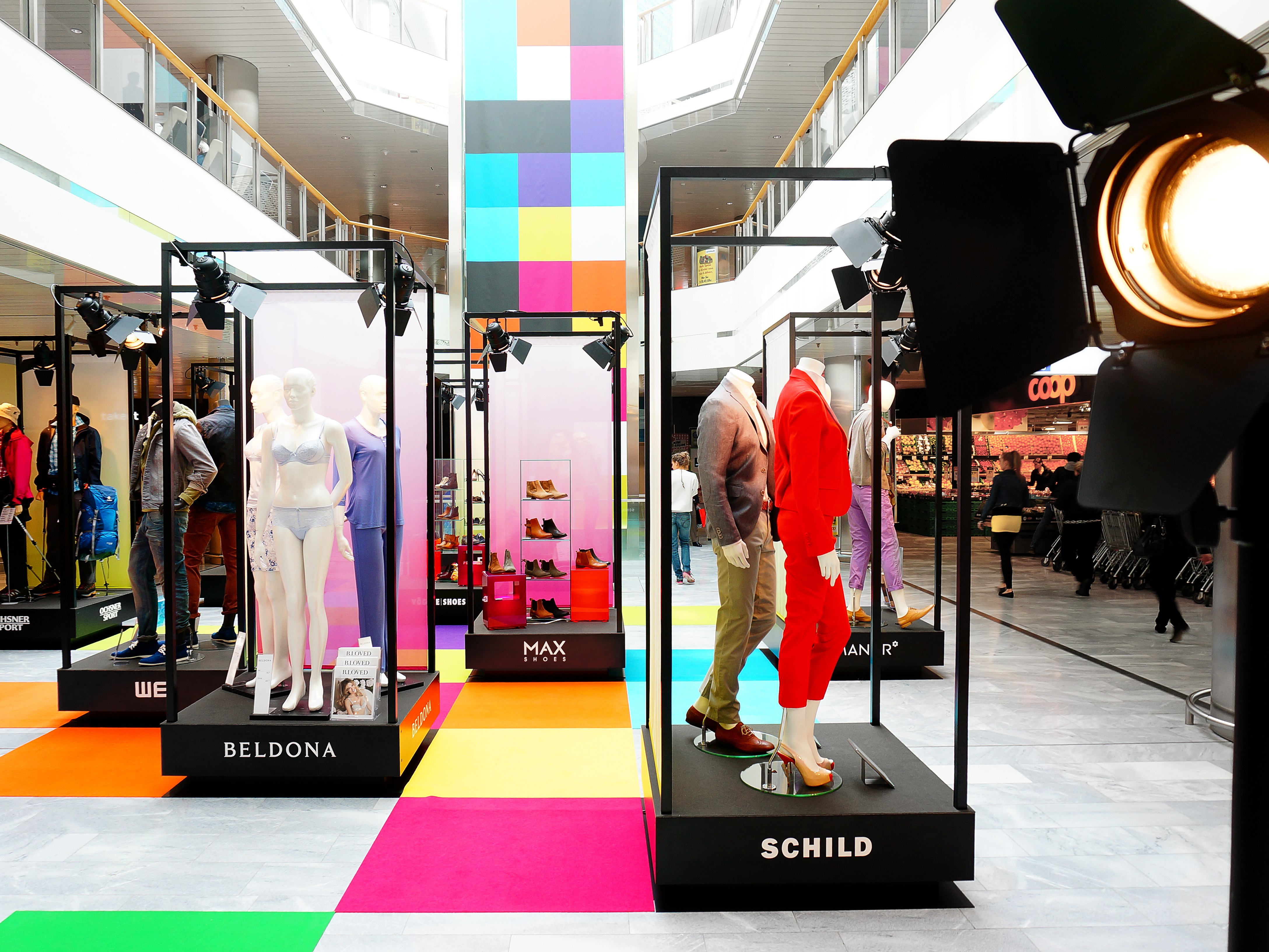 Coop EKZ Letzipark Fashionshow