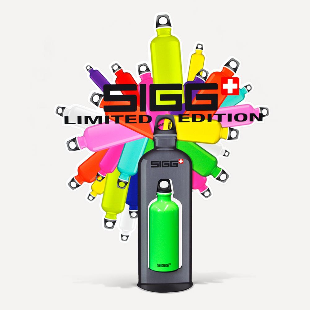 Sigg Getränkeflaschen-Promotion