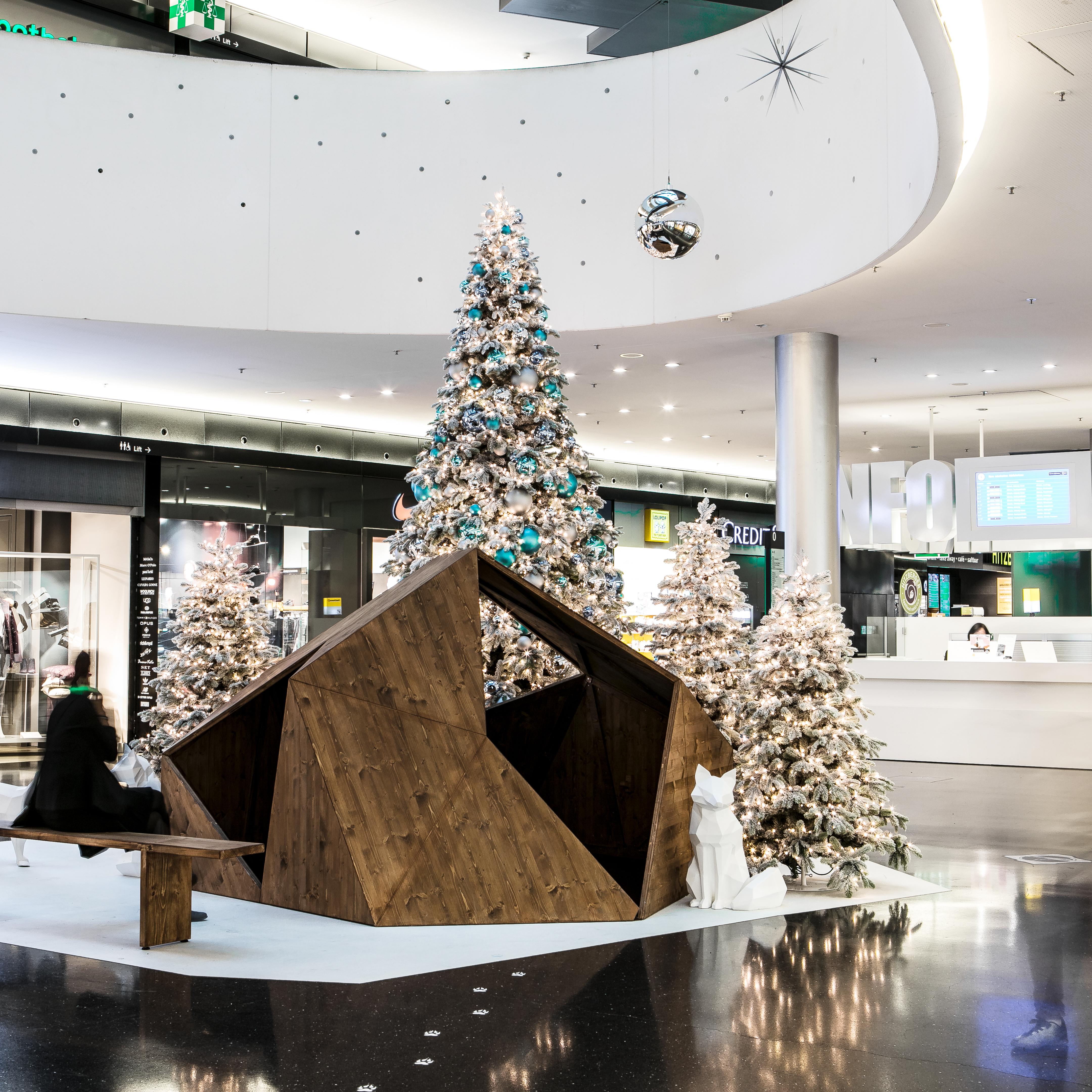 Sihlcity Weihnachten Winter Wonderland Fuchsbau