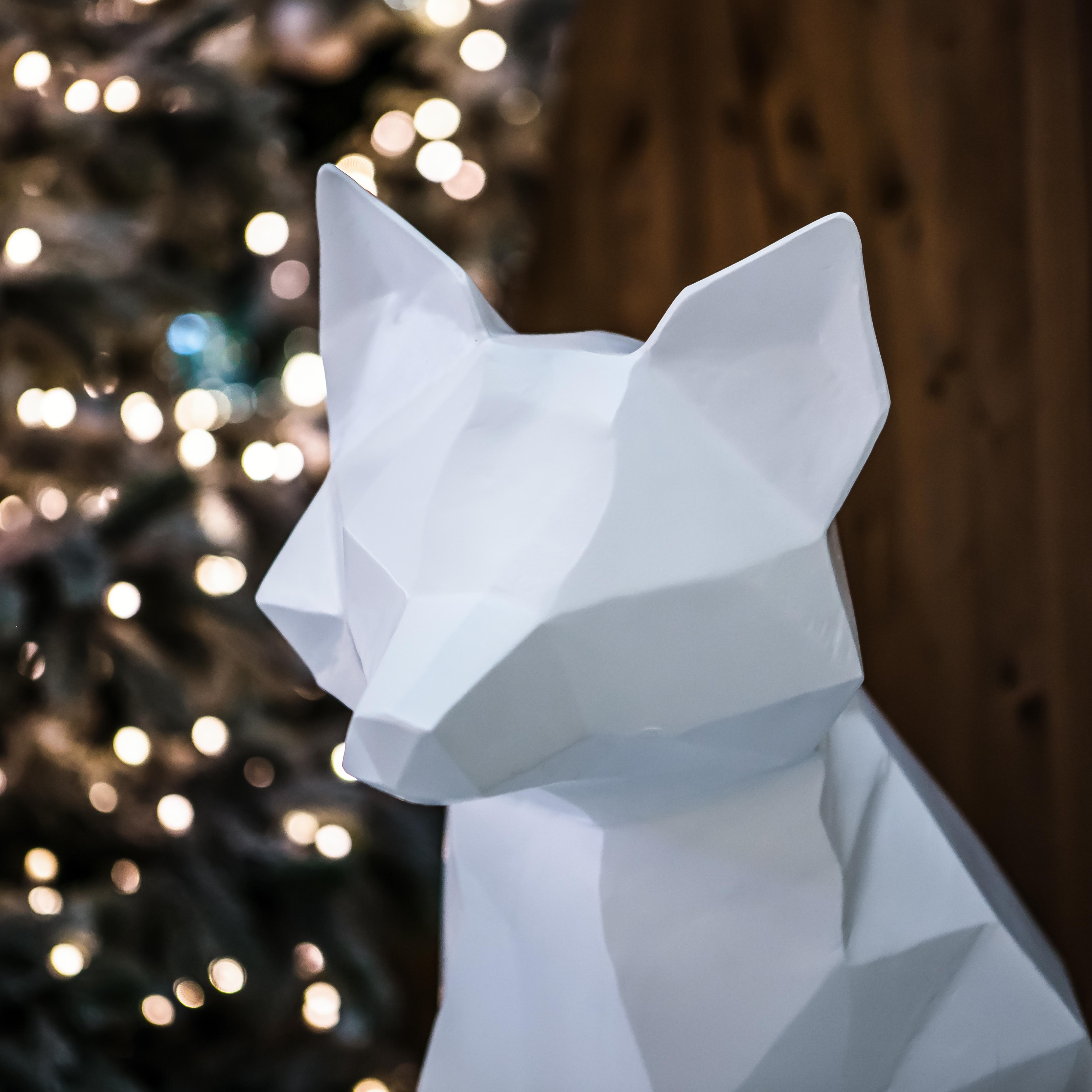 Sihlcity Weihnachten Winter Wonderland Fuchs Detail