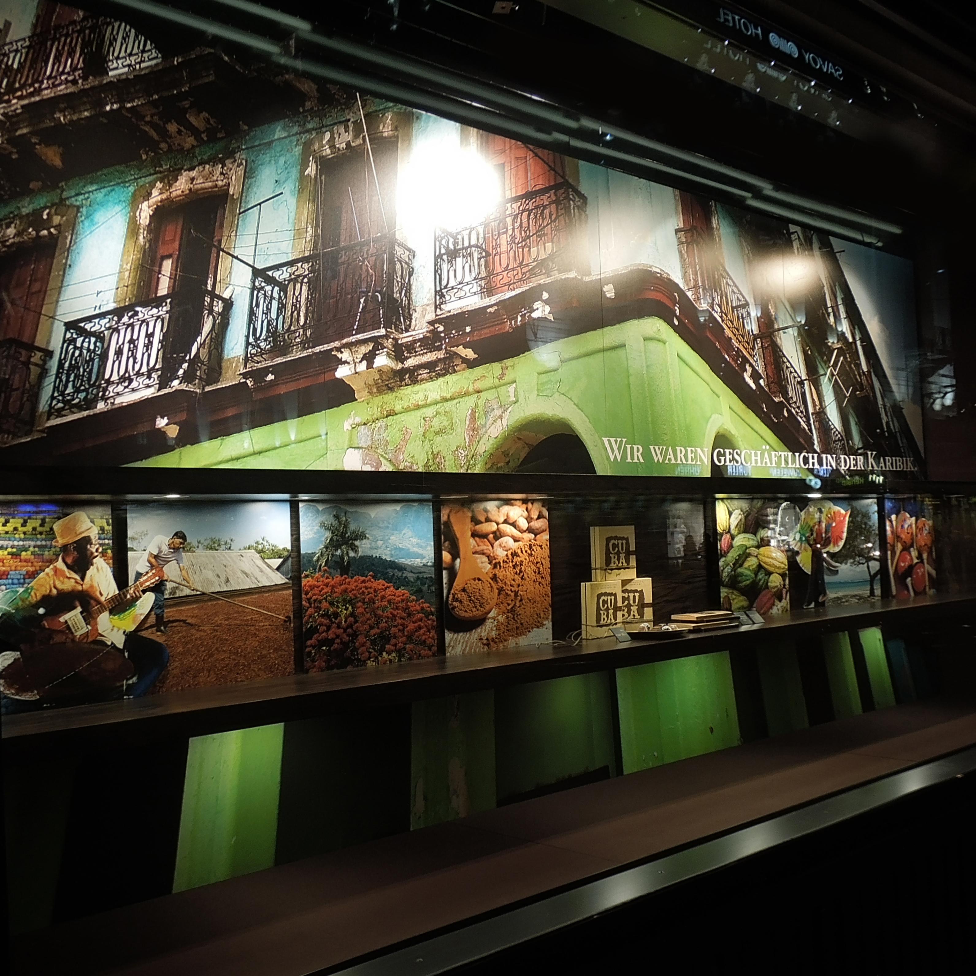 Confiserie Spruengli Schaufenster Cuba