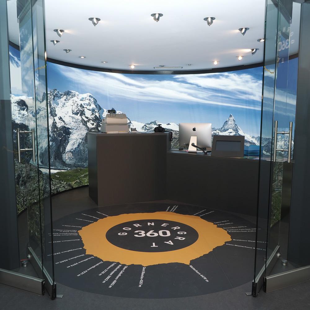 Matterhorn Gotthard Bahn Gornergrat Fotoraum