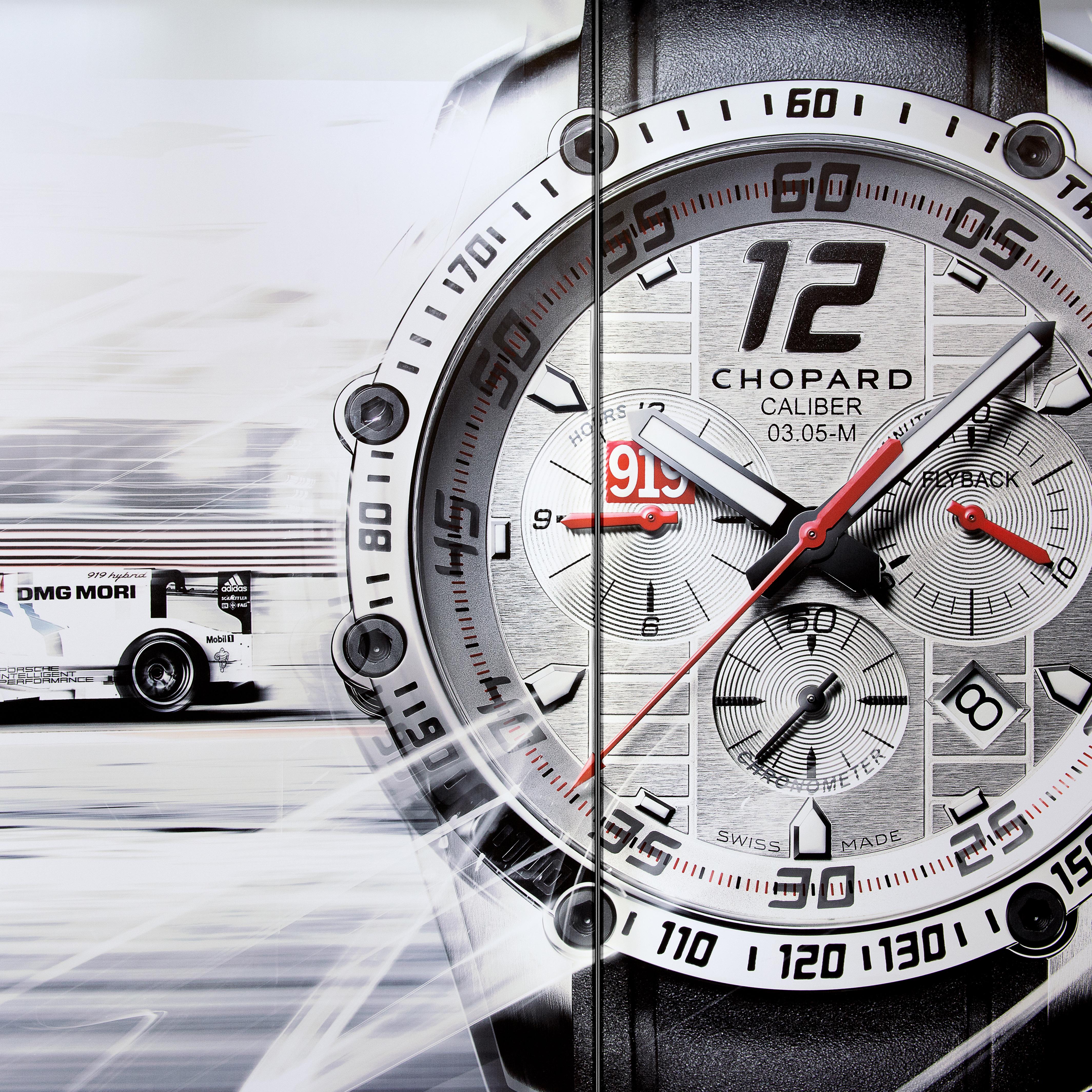 Uhren-Promotion von Chopard