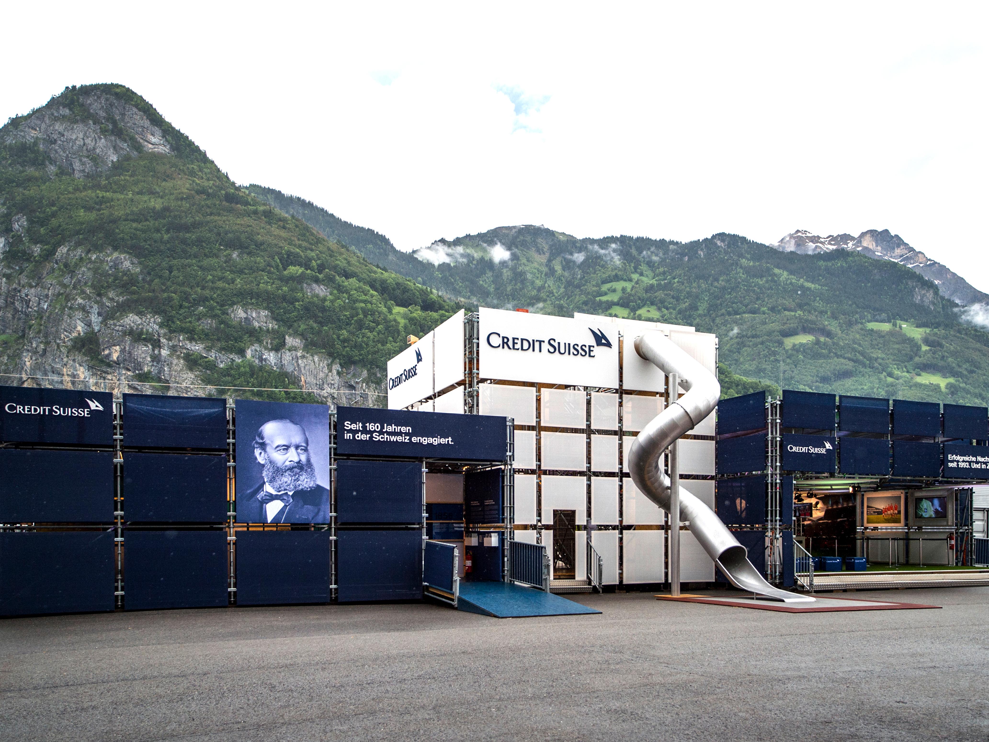 Credit Suisse Eröffnung Gottardo