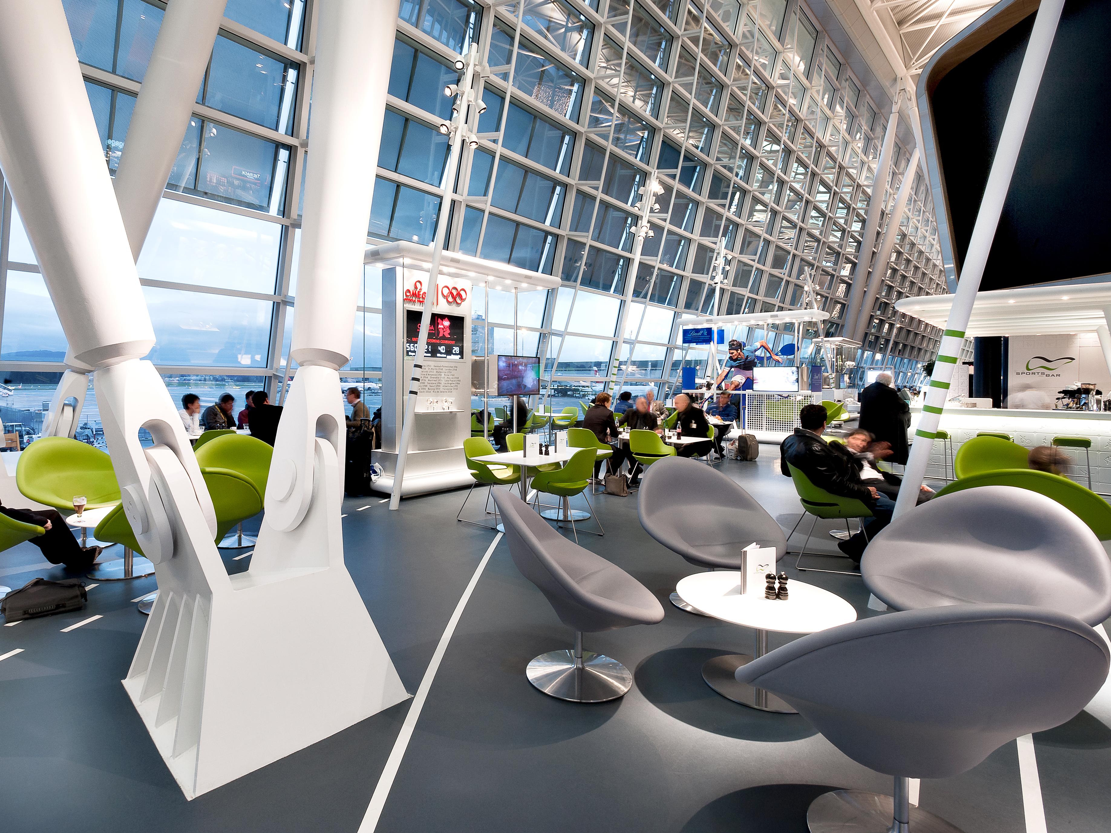 Flughafen Zürich Select Service Partner Gestaltungskonzept Gastronomie