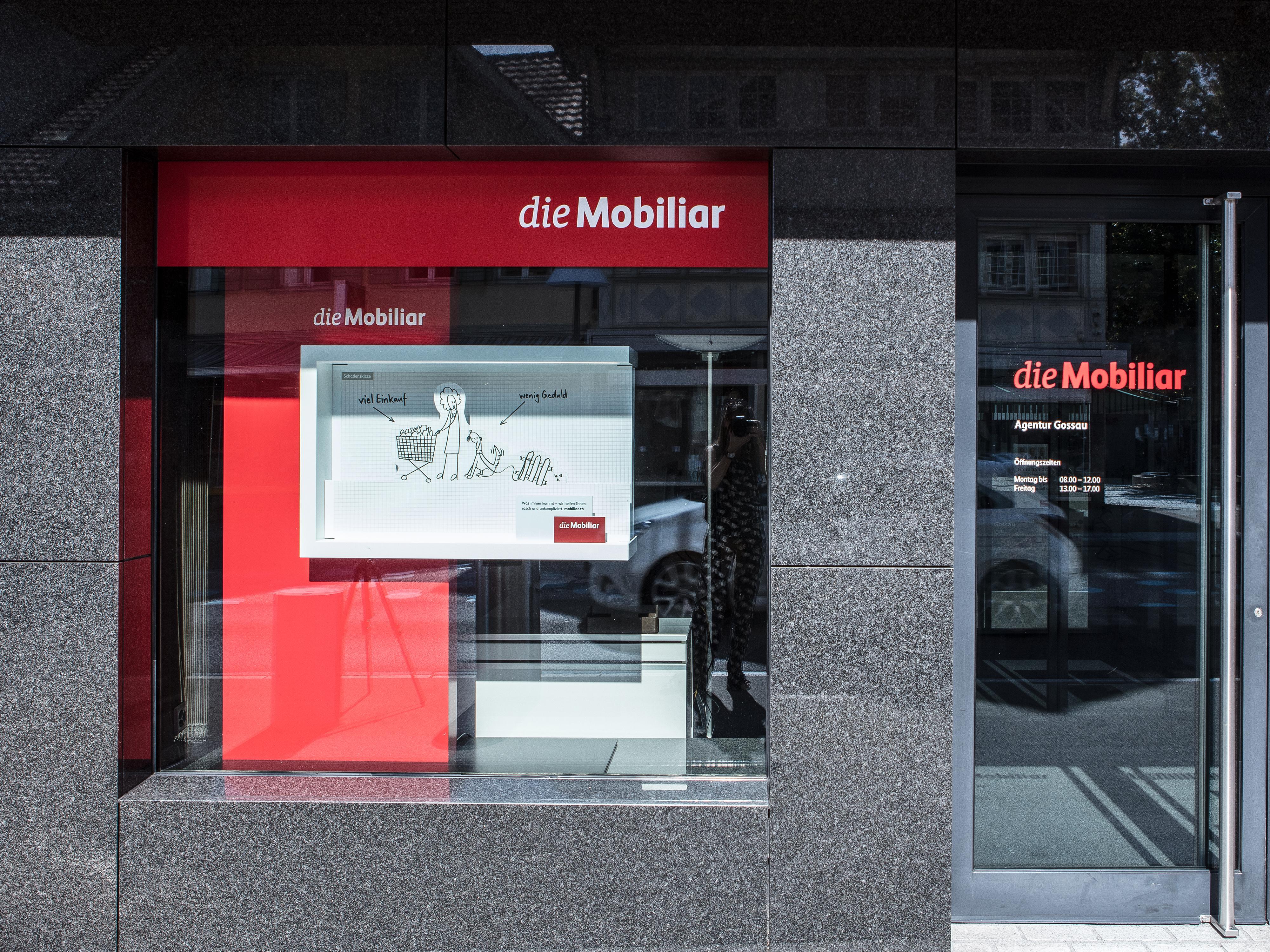 Mobiliar Schaufenster