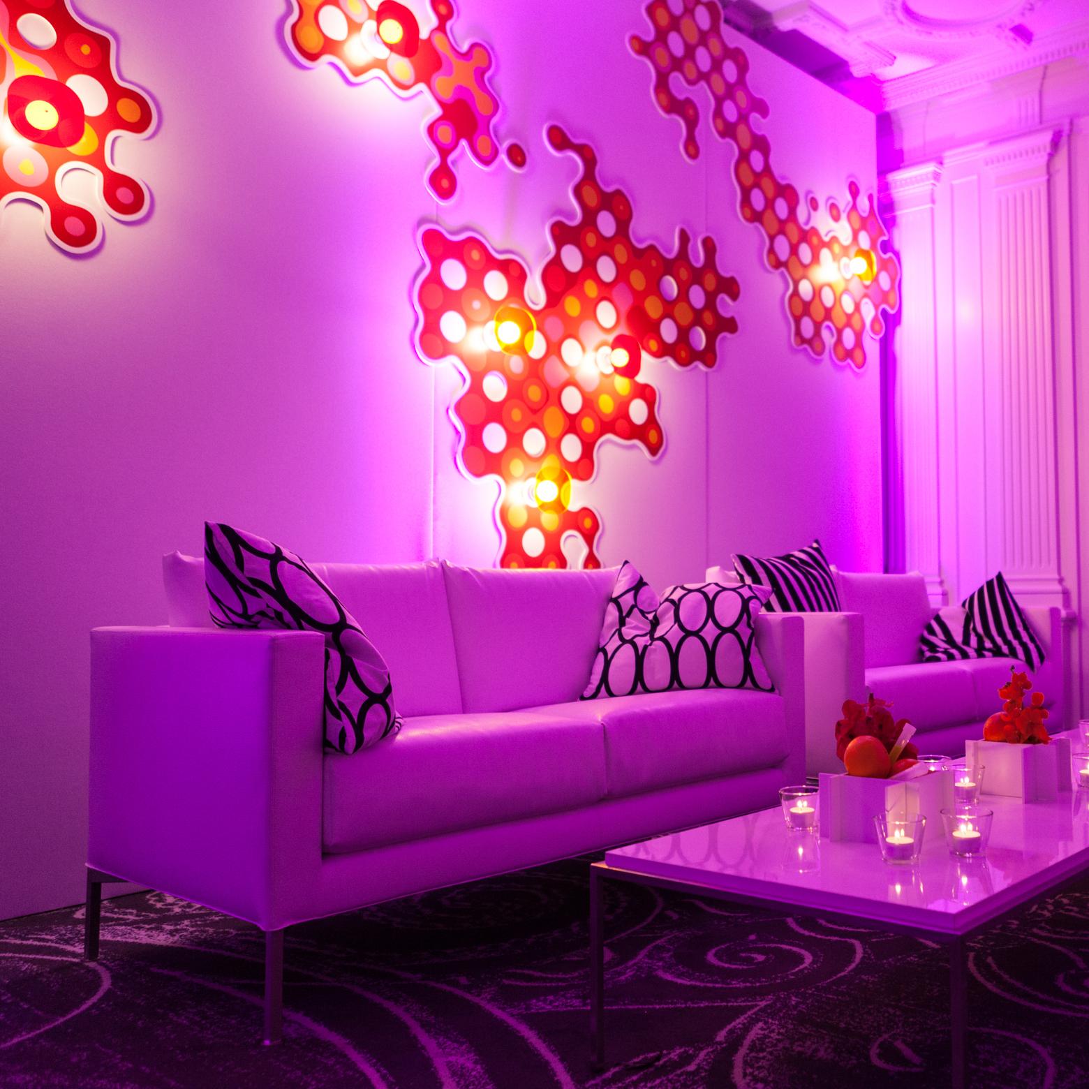 PWC WEF 2017 Lounge