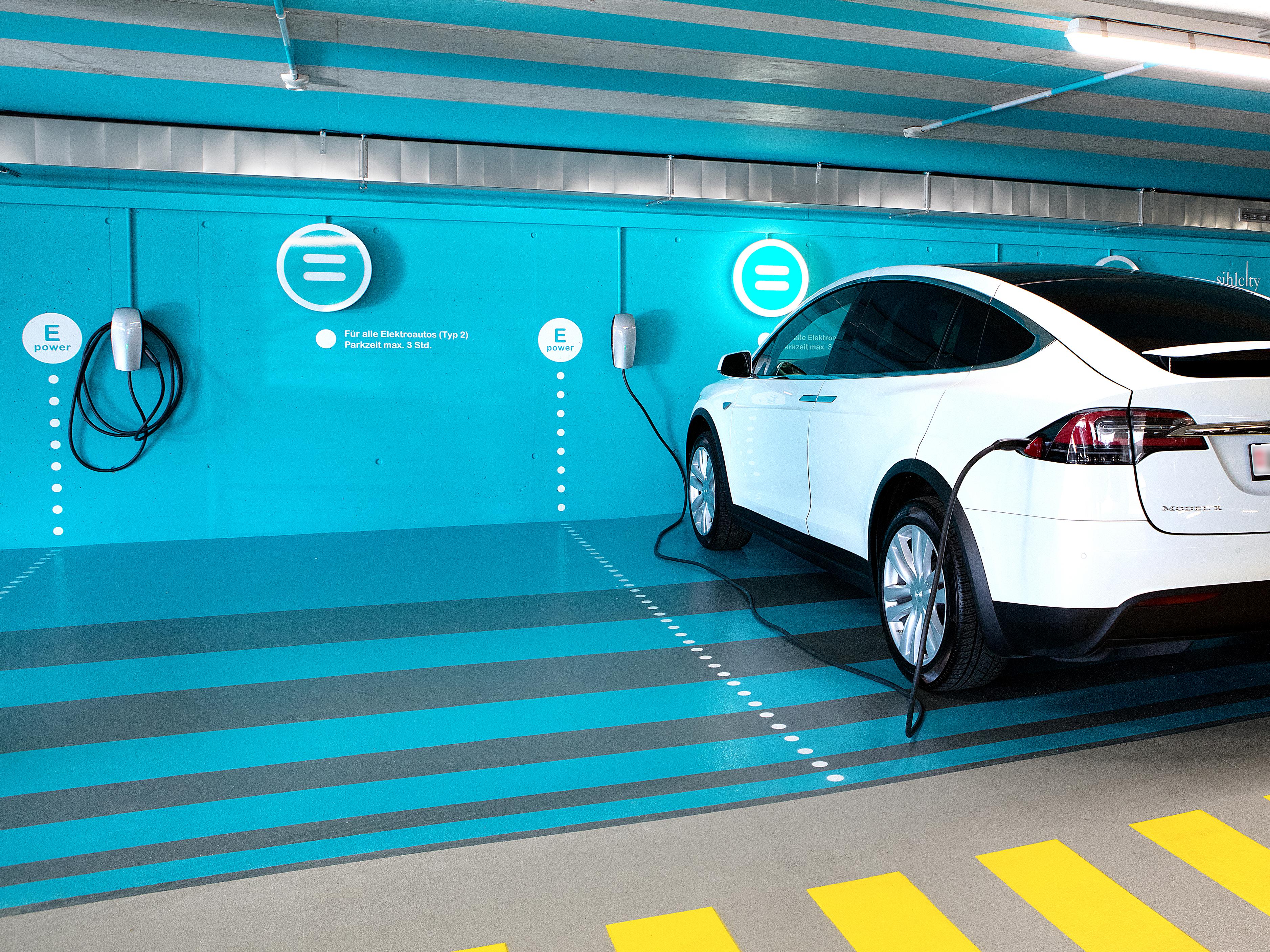 Sihlcity Gestaltungskonzept Parking