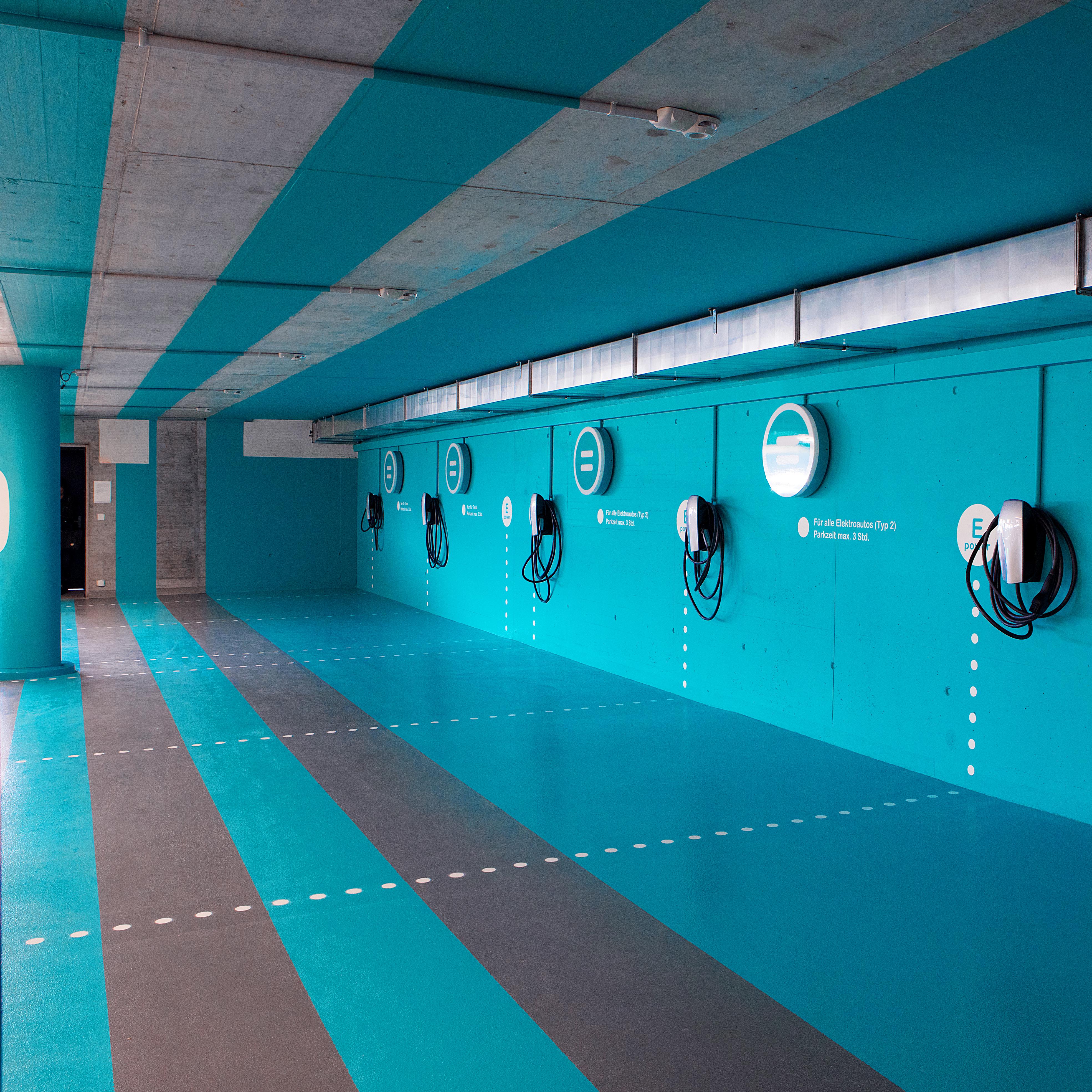 Sihlcity Gestaltungskonzept Parking Seite