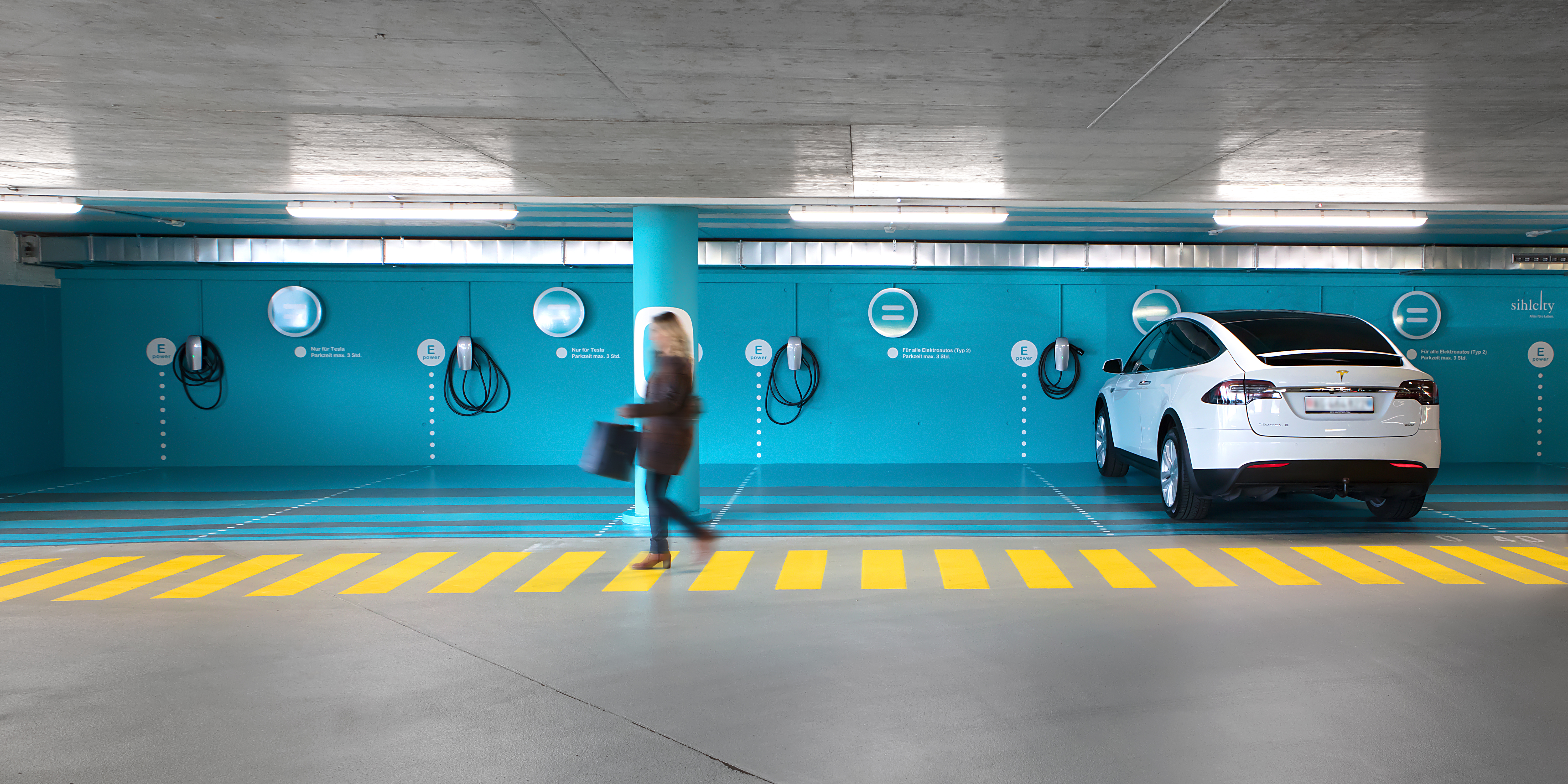 Sihlcity Gestaltungskonzept Parking Vorne