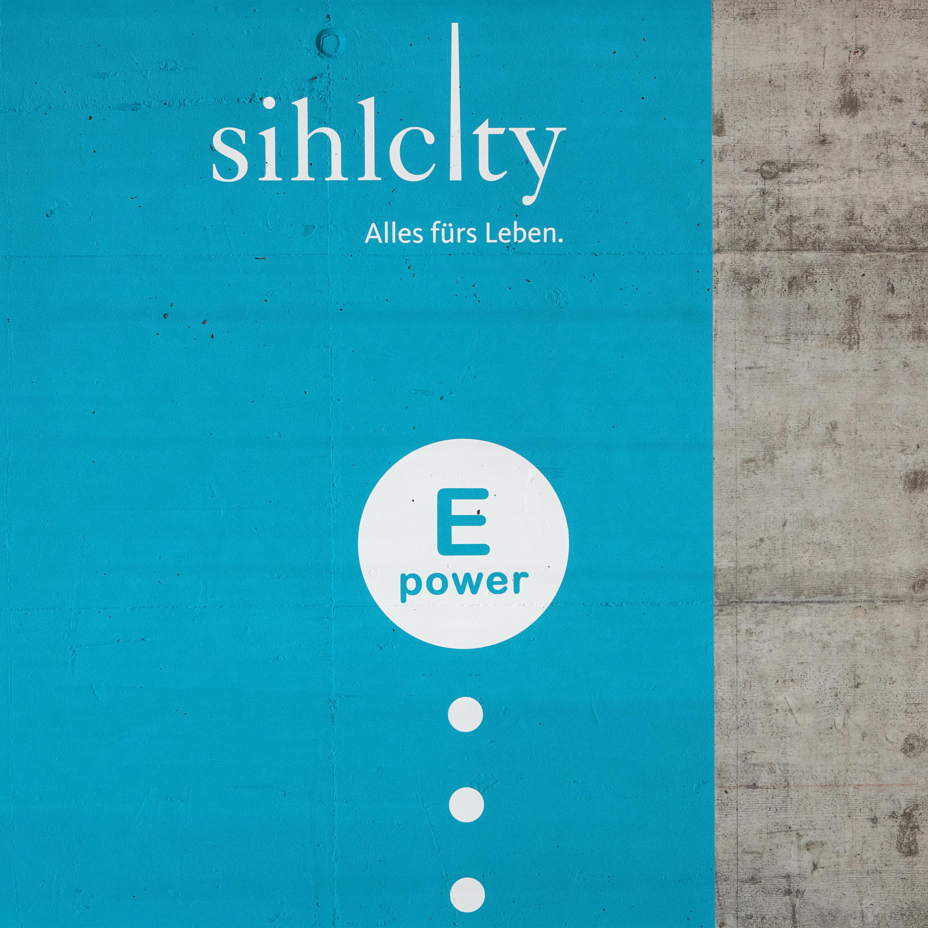 Sihlcity Gestaltungskonzept Parking Detail