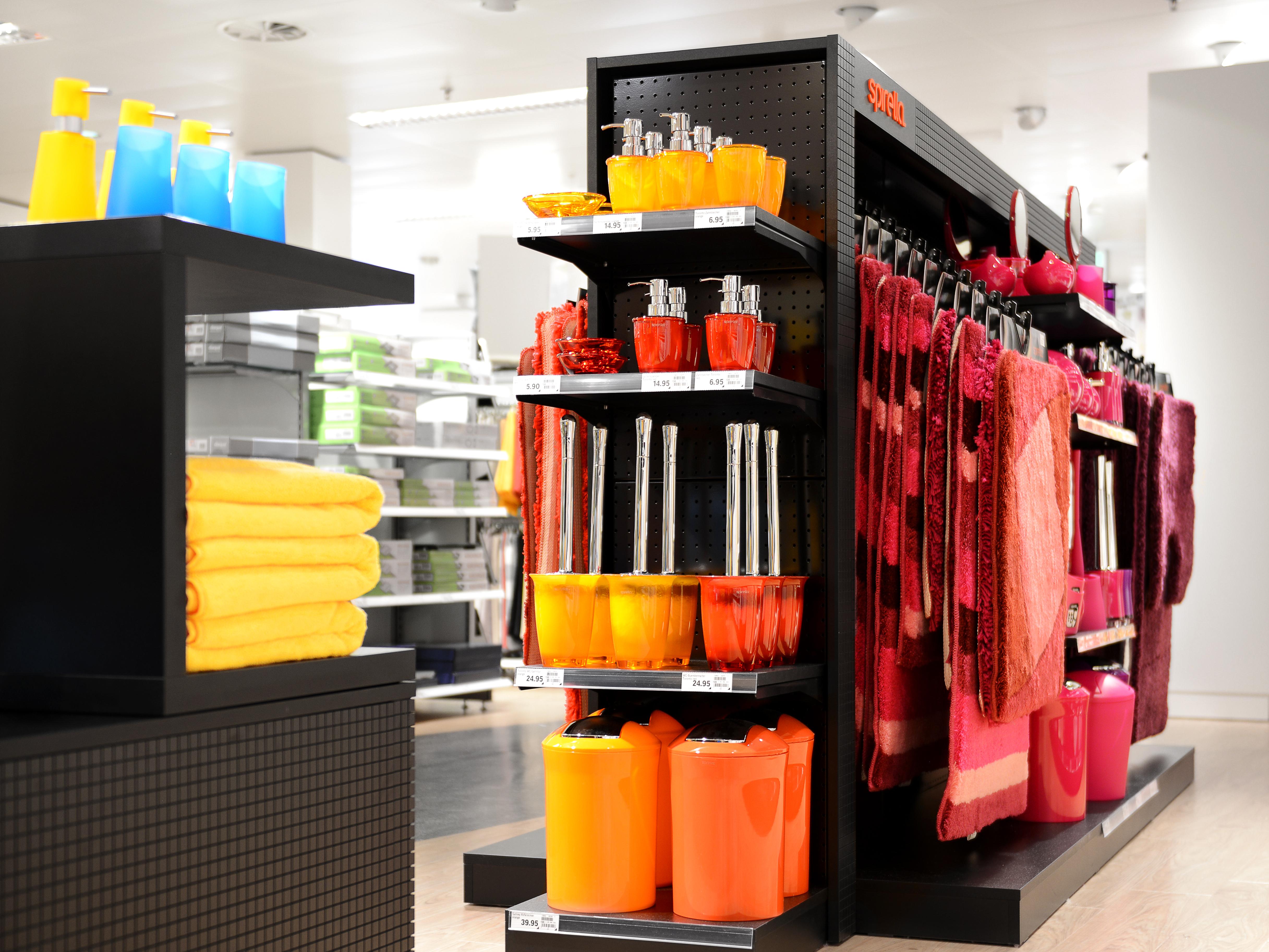 Spirella Shop-in-Shop-Konzept