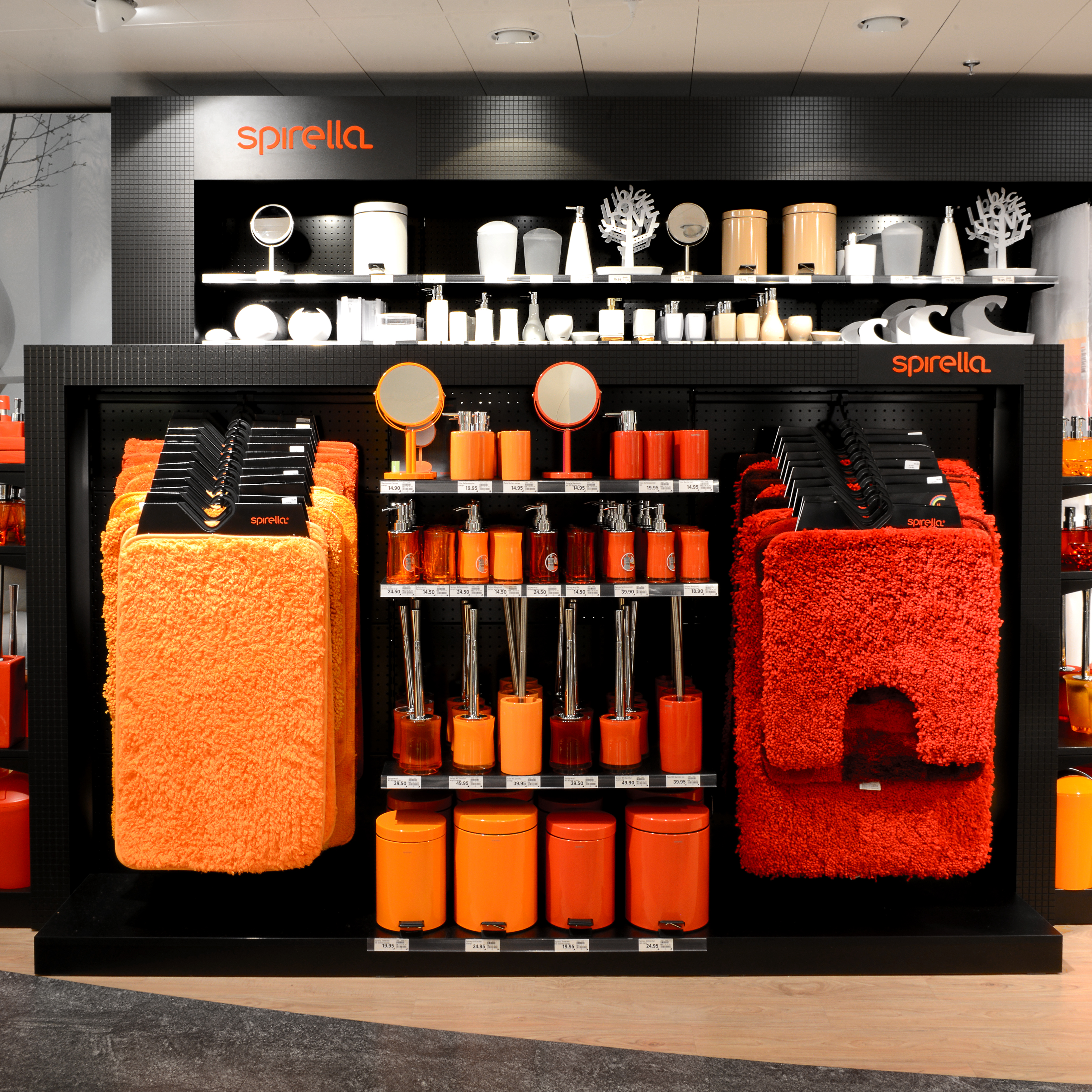 Spirella Shop-in-Shop-Konzept Ansicht