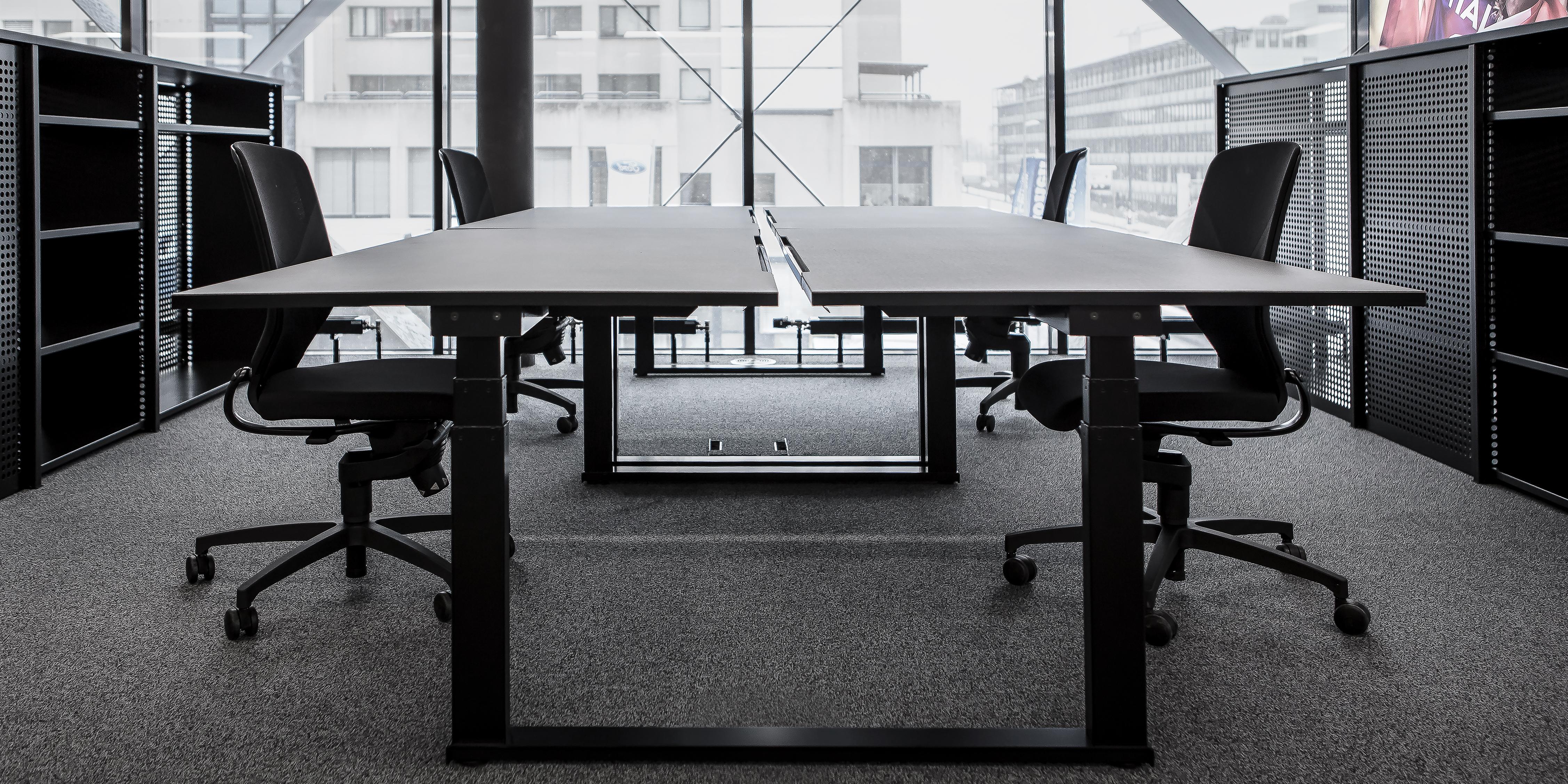 Ticketmaster Gestaltungskonzept Office Tische