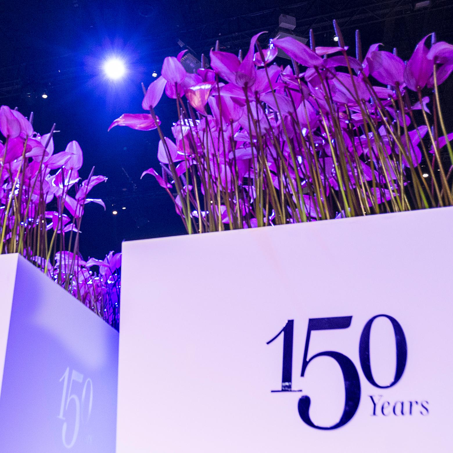 UBS 150 Jahre Jubiläum Dekoration