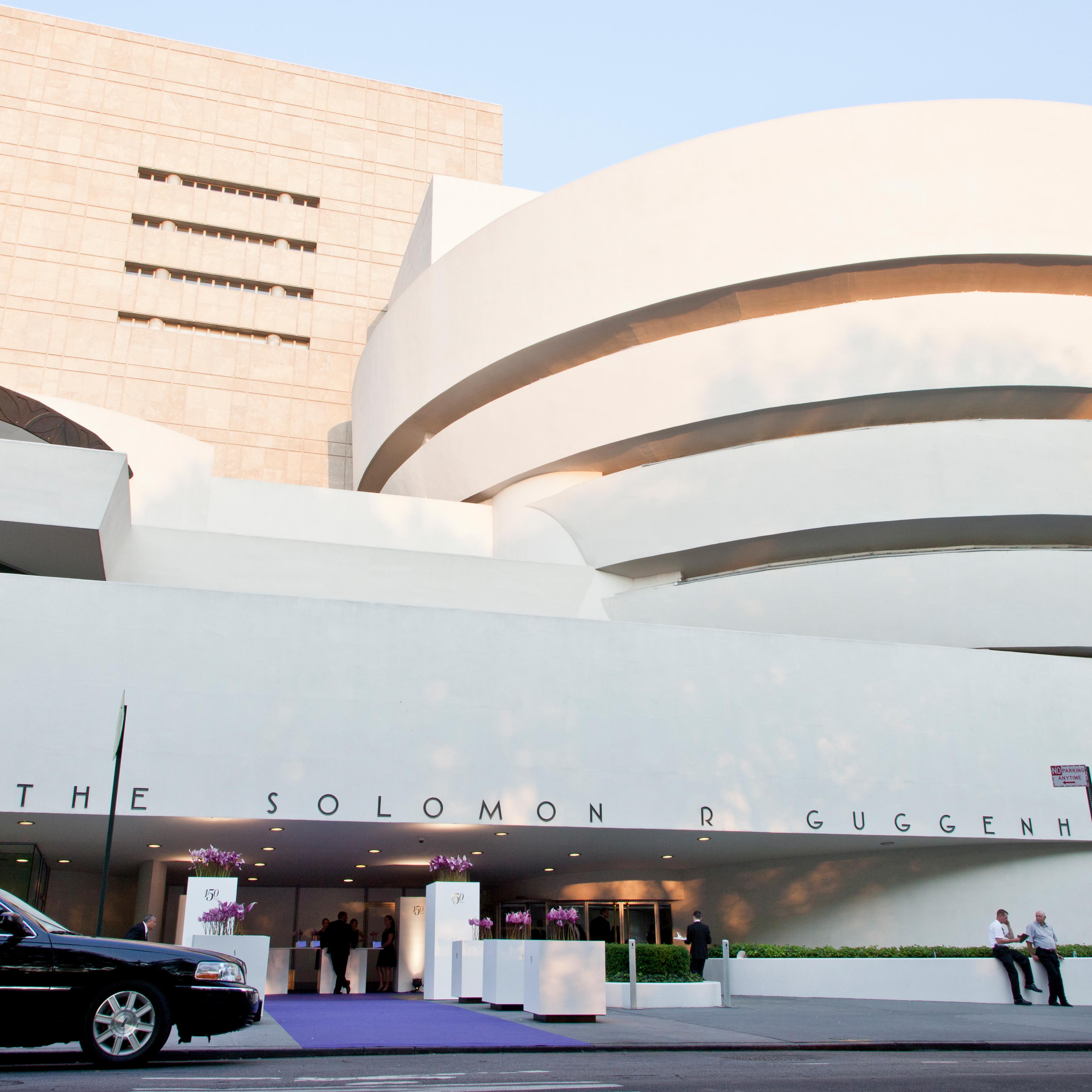 UBS 150 Jahre Jubiläum New York Guggenheim Aussen