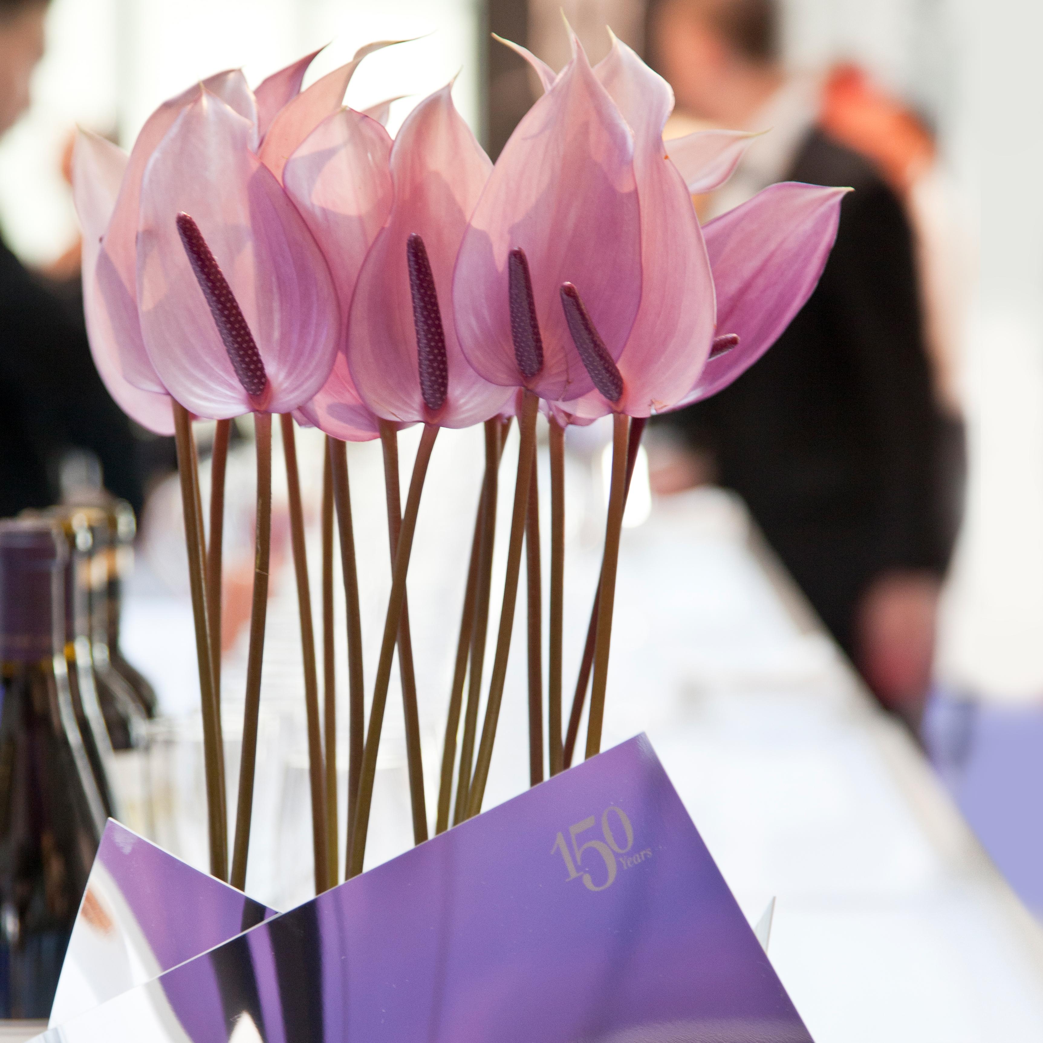 UBS 150 Jahre Jubiläum New York Blumendekoration