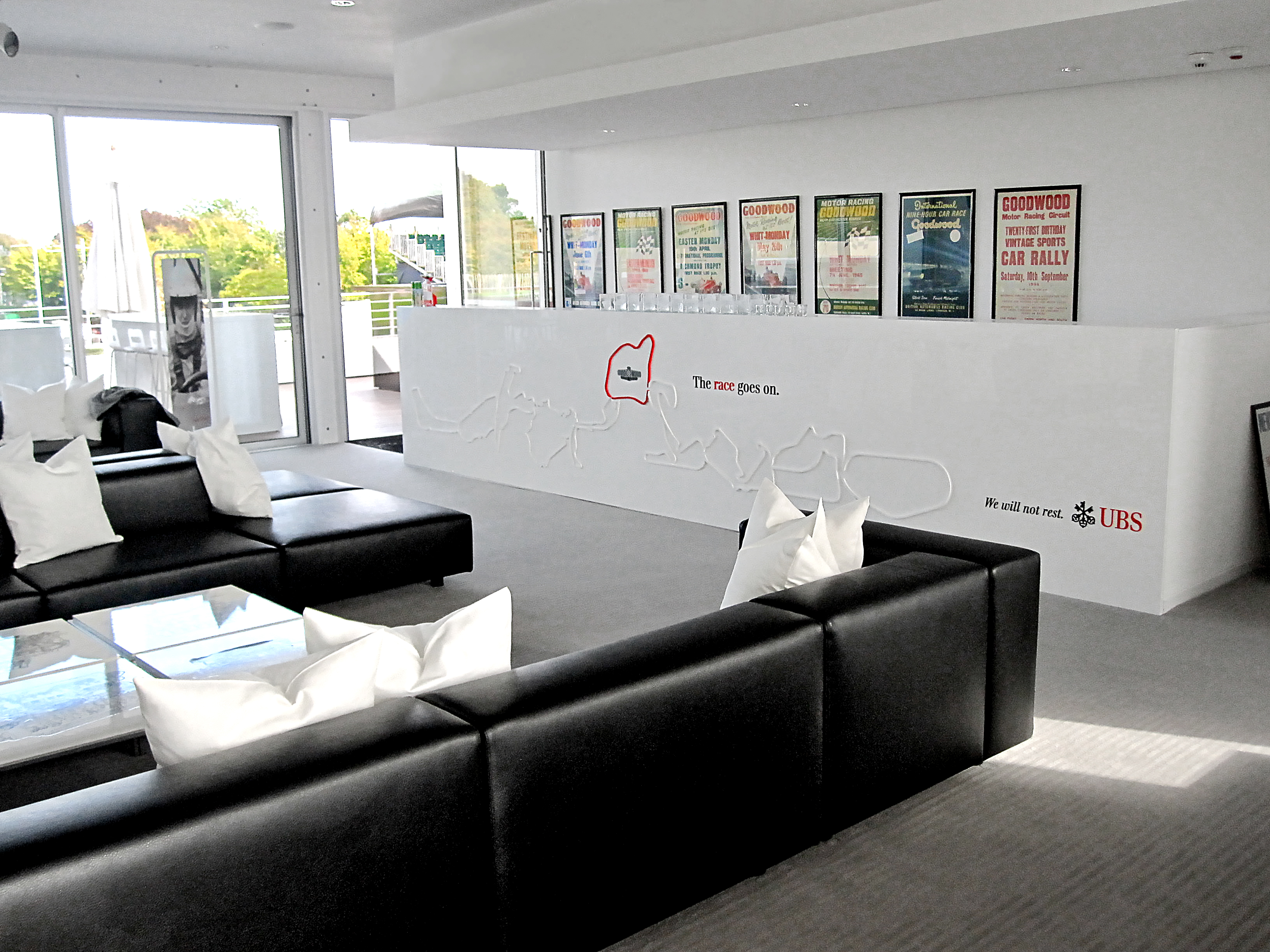 UBS Goodwood Event Lounge