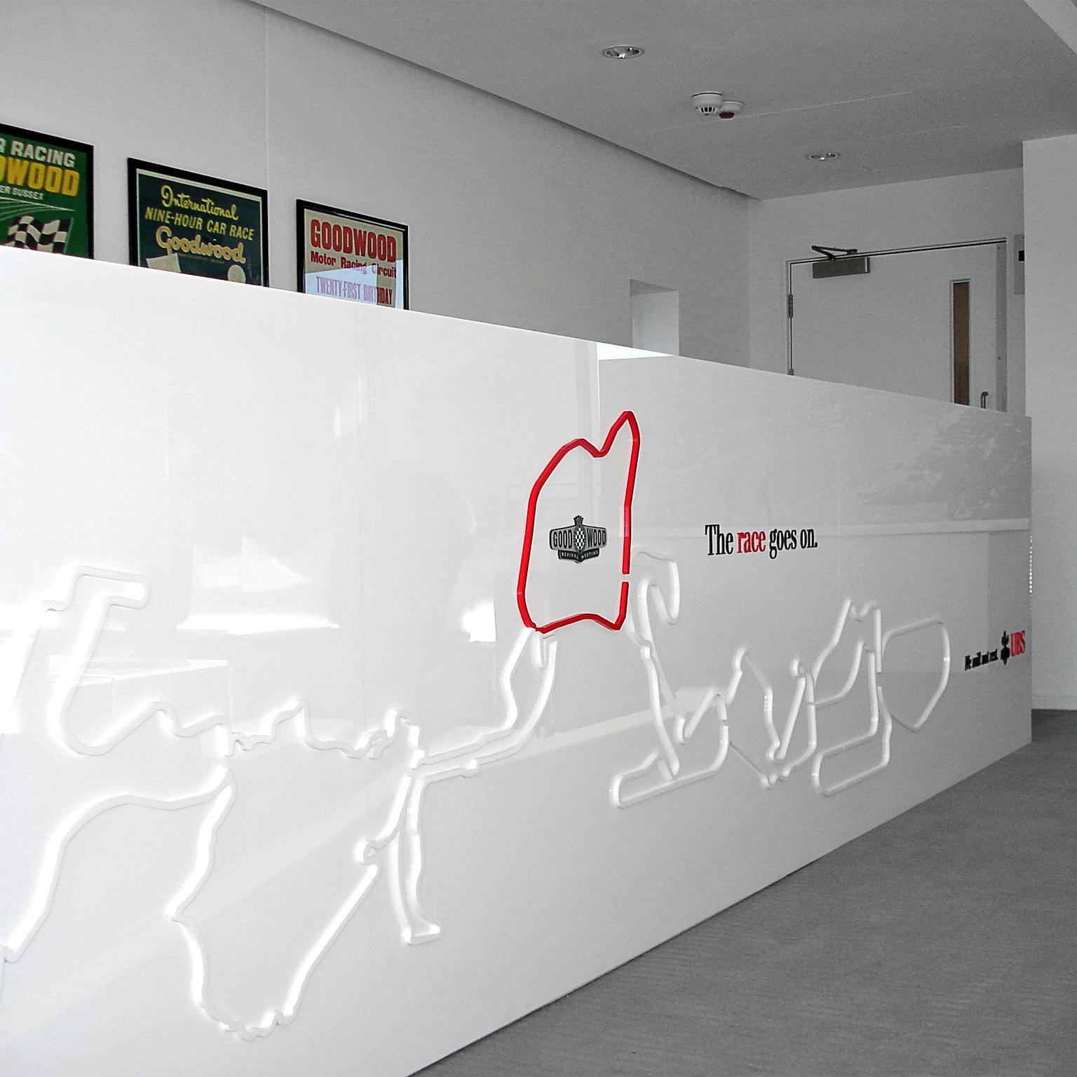 UBS Goodwood Event Bar Detail