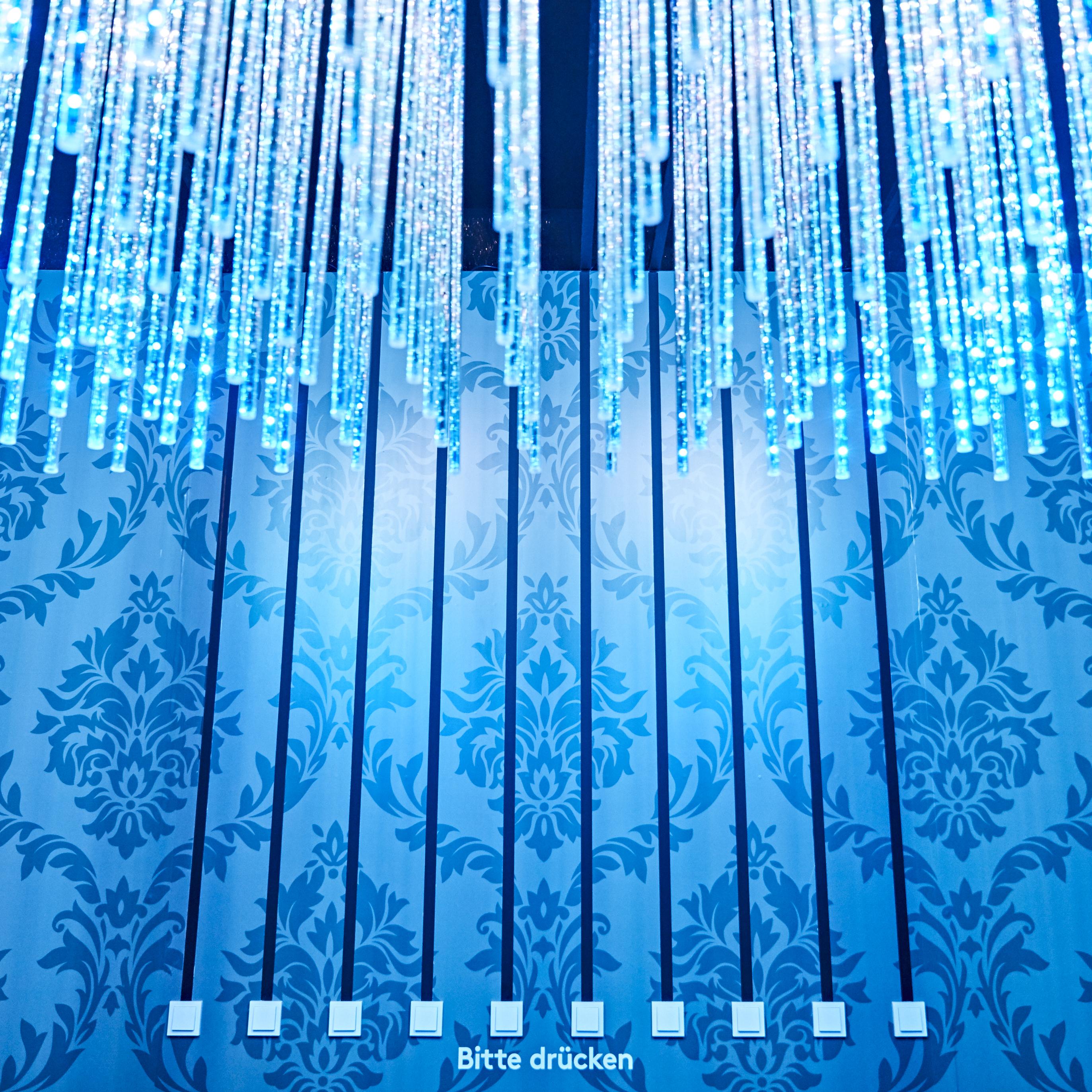 LED-Stäbe mit Lichtschalter
