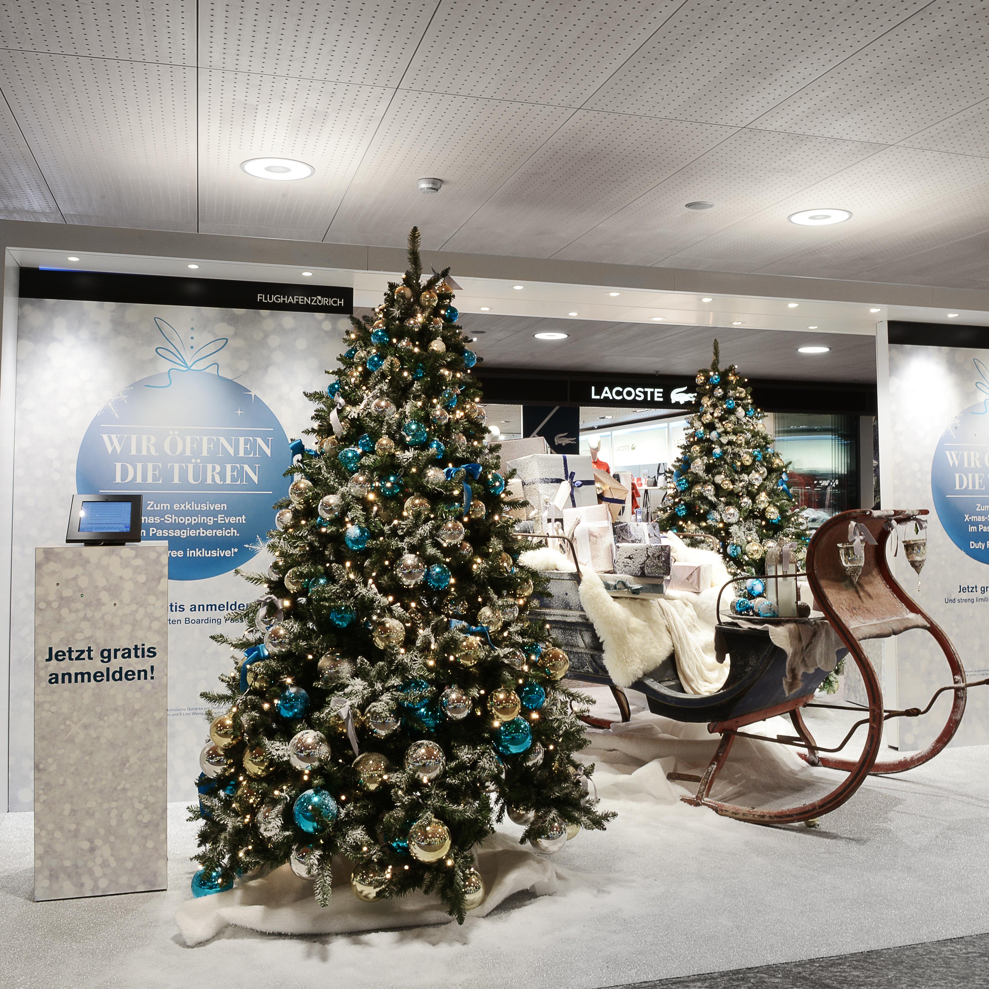 Flughafen Weihnachtsbaum