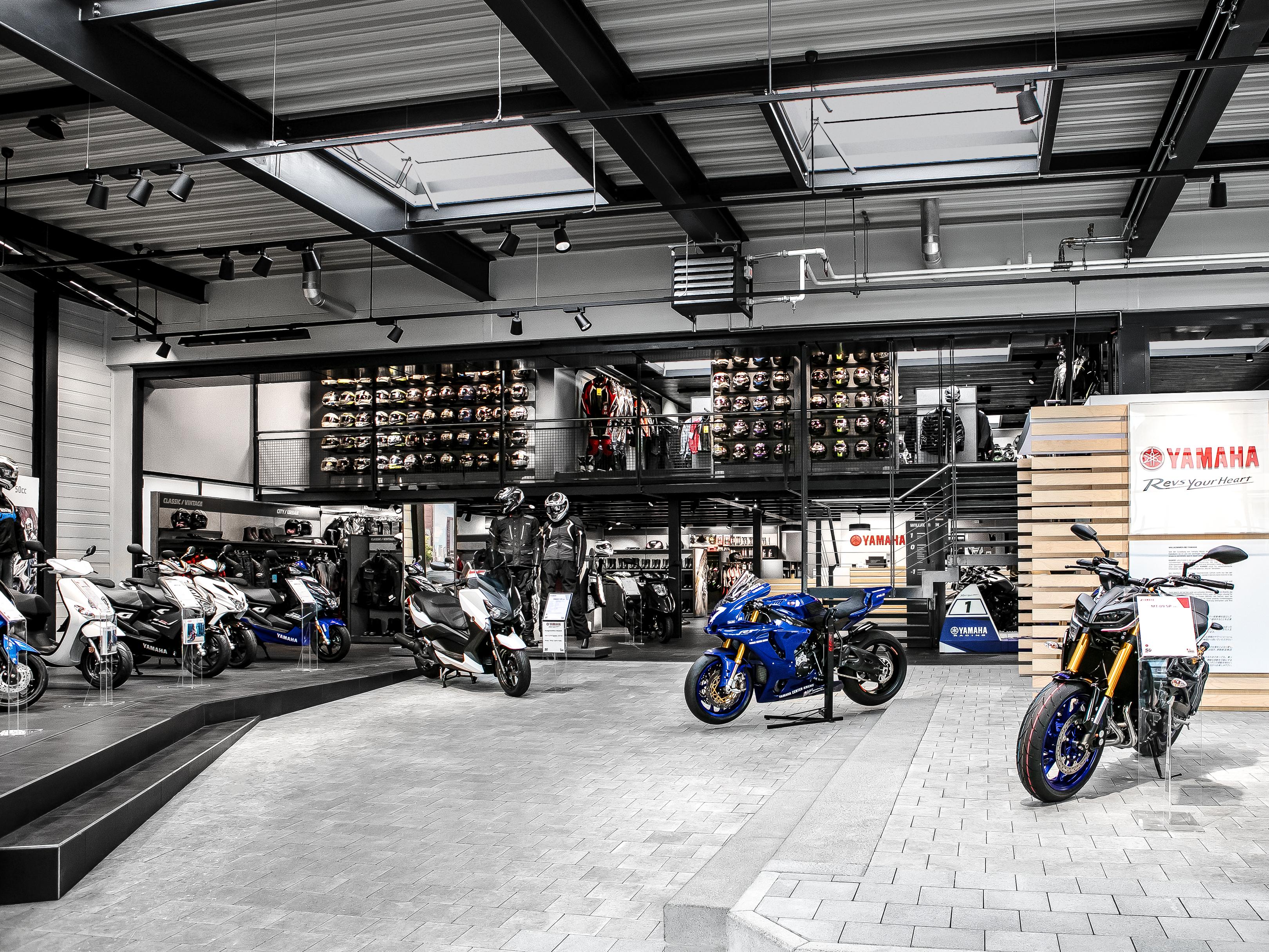 Yamaha Hostettler Verkaufsflächenkonzept