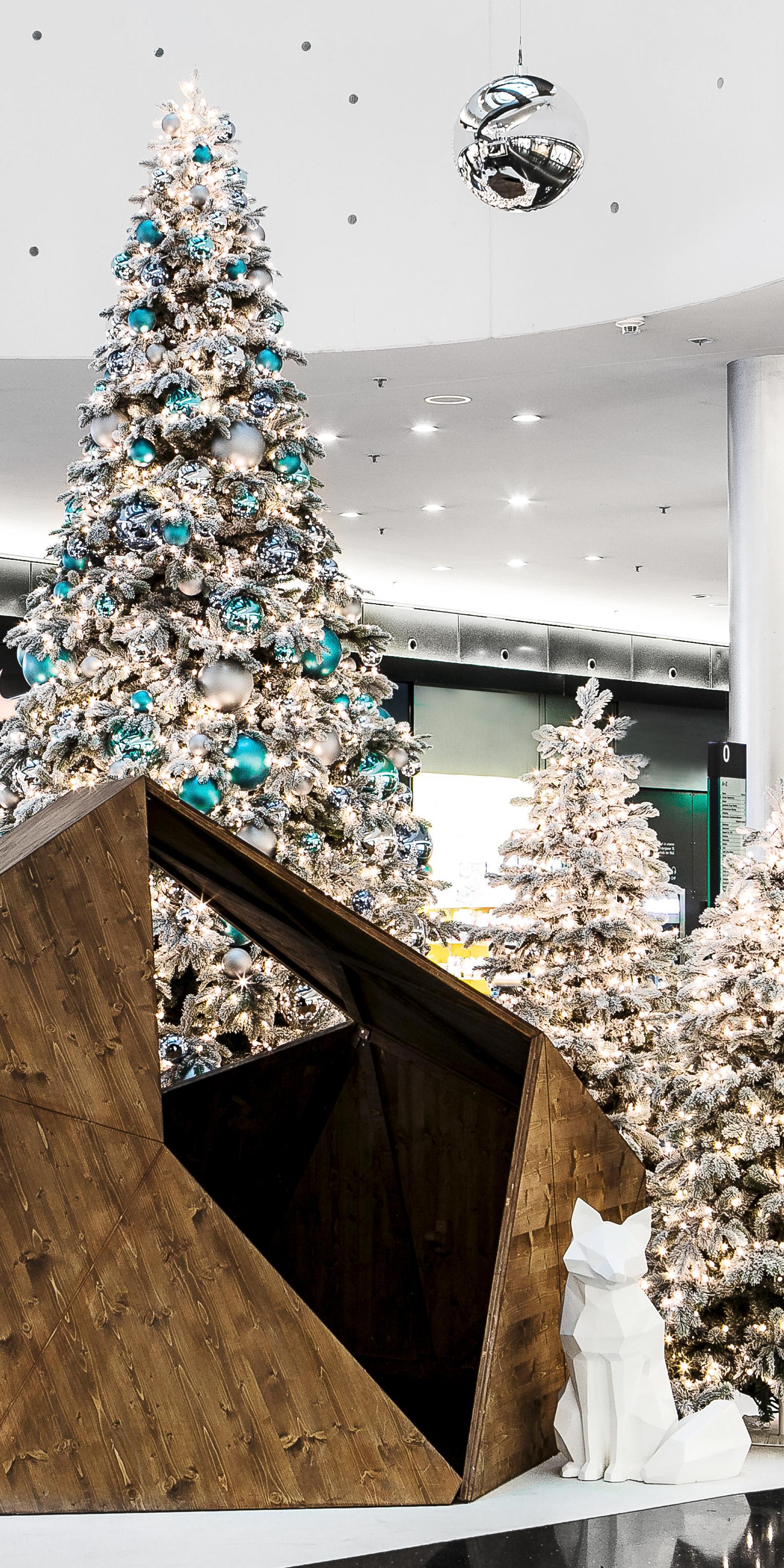 Weihnachten Sihlcity Fuchsbau