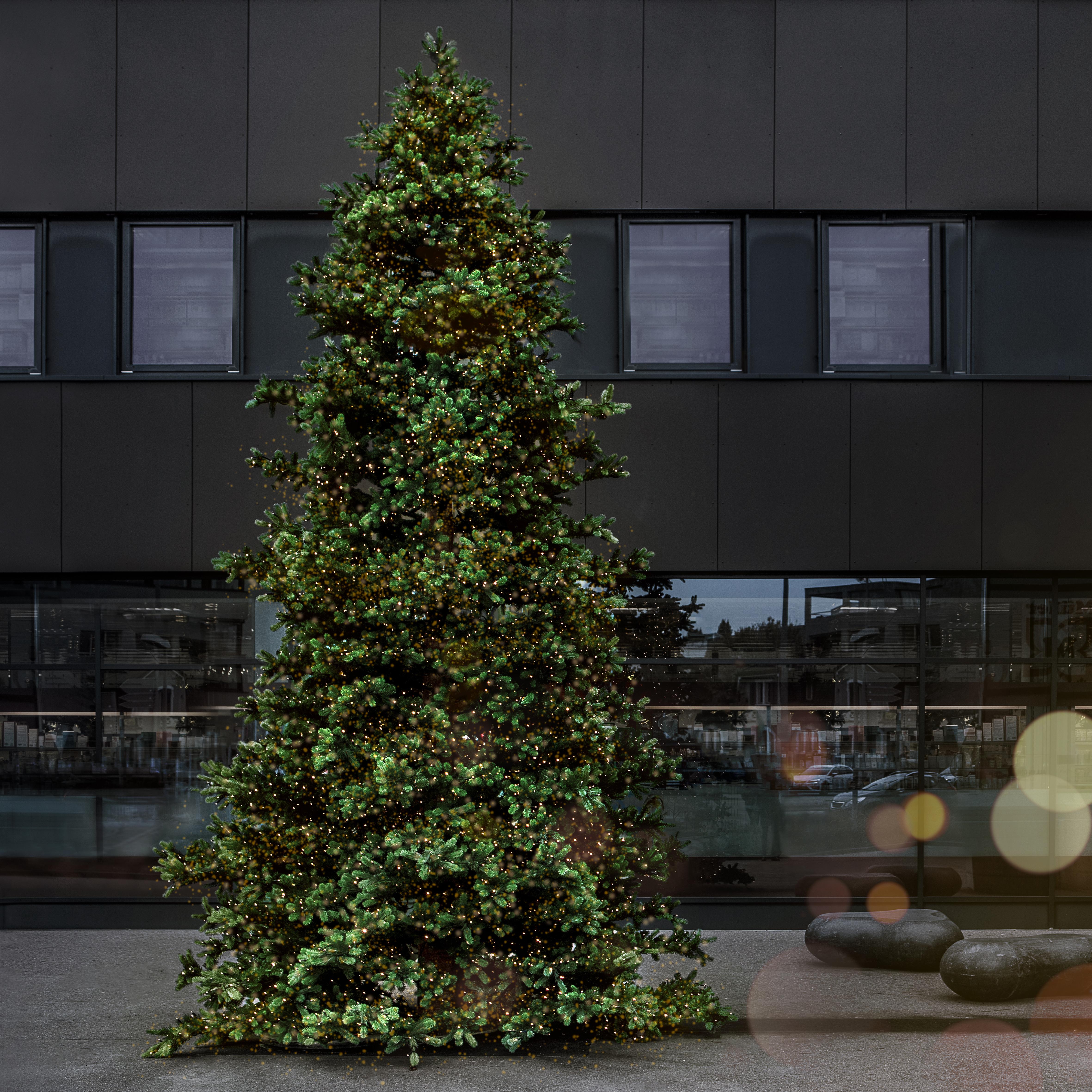 Weihnachtsbeleuchtung Gais Center