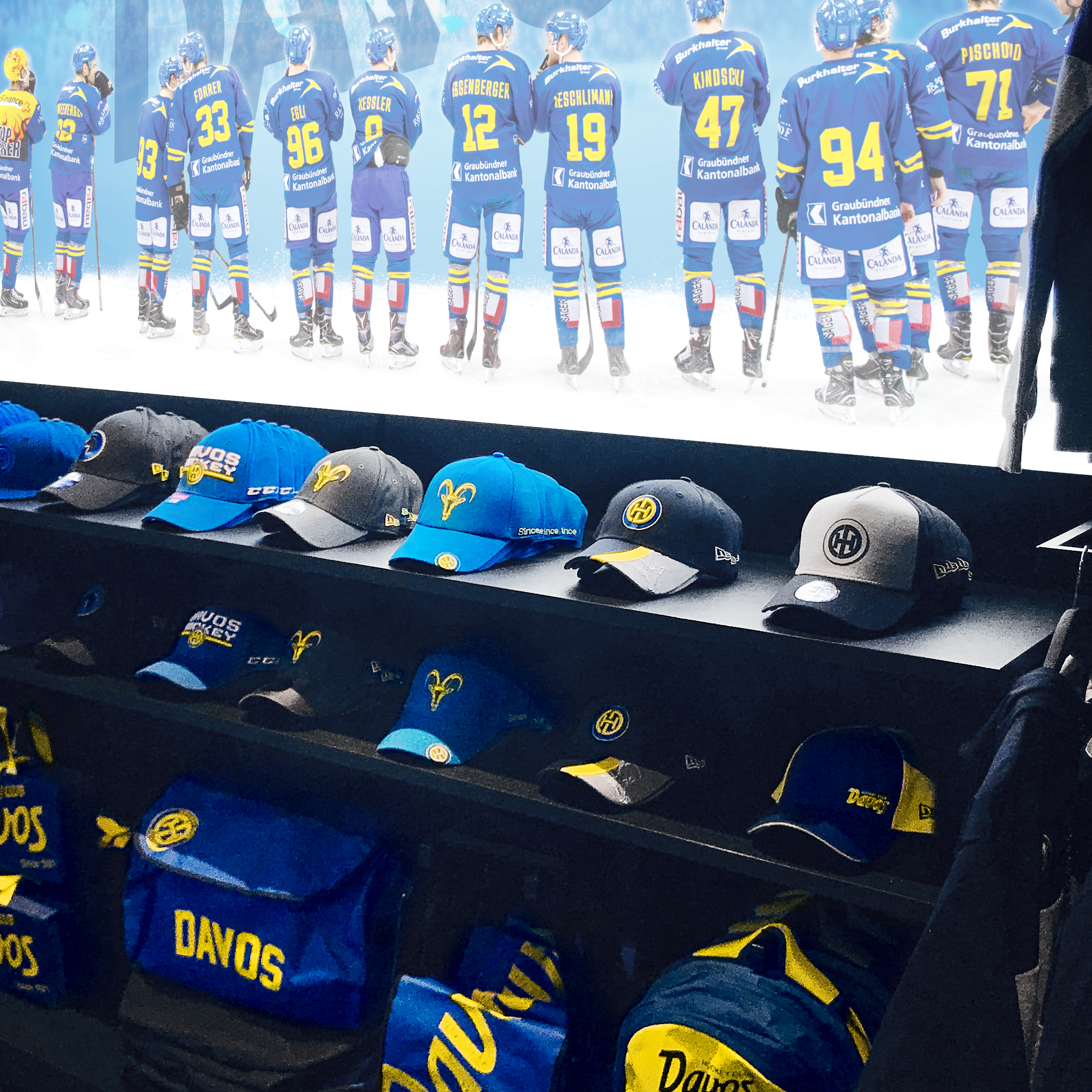 HCD Fanshop Retaildesign Caps