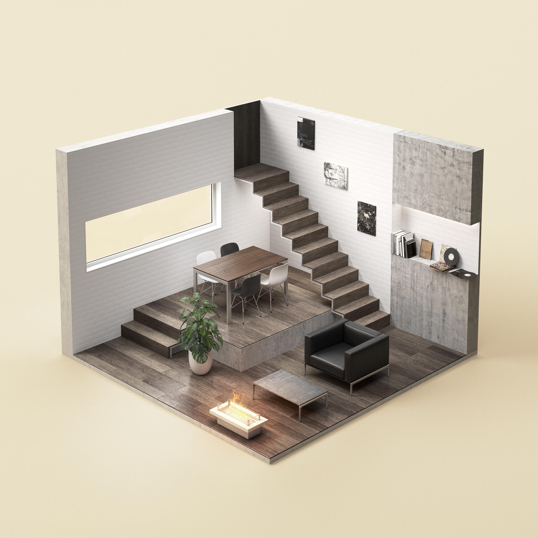 Wohnen Raum