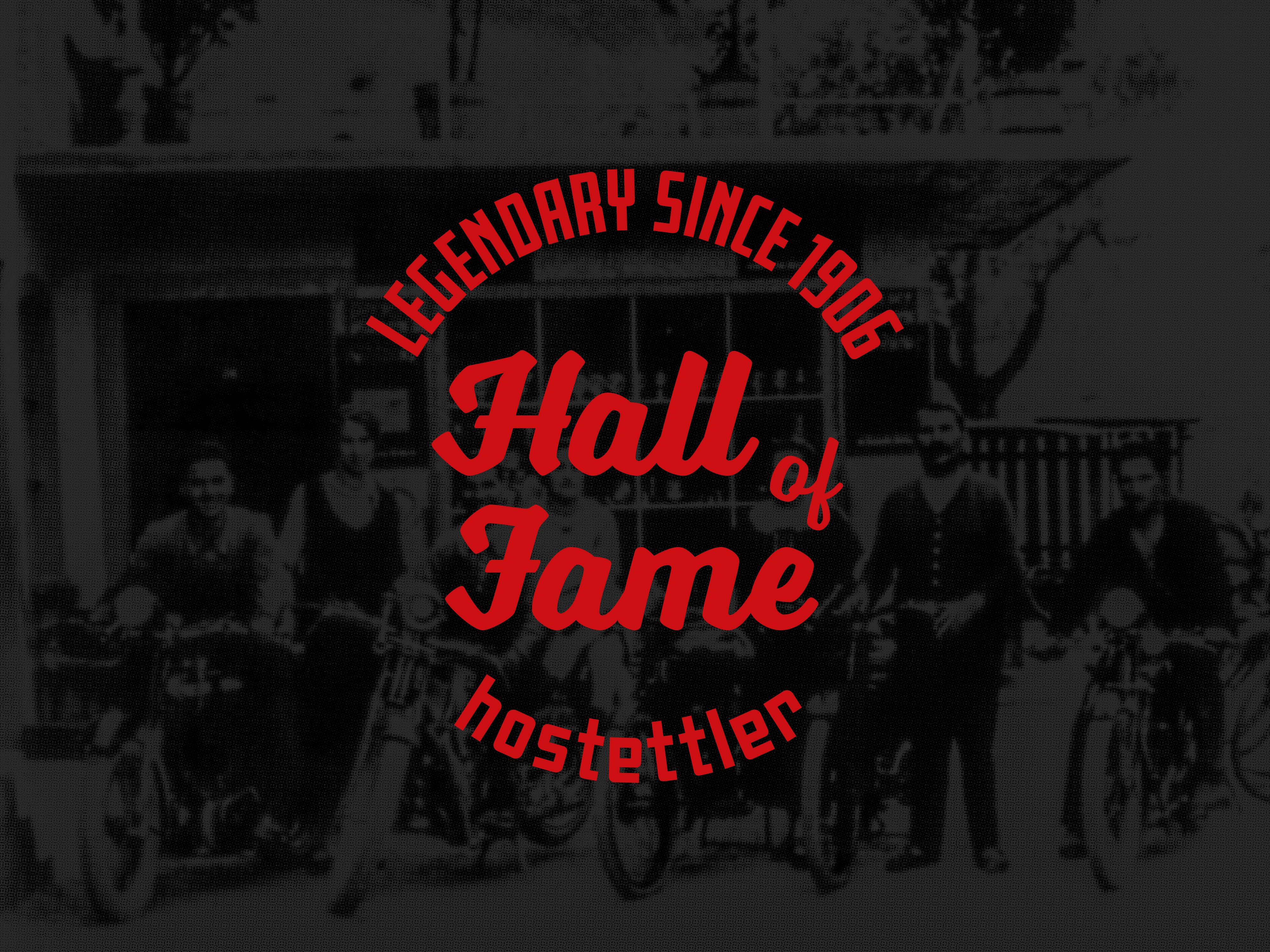 Hostettler Hall of Fame Logodesign