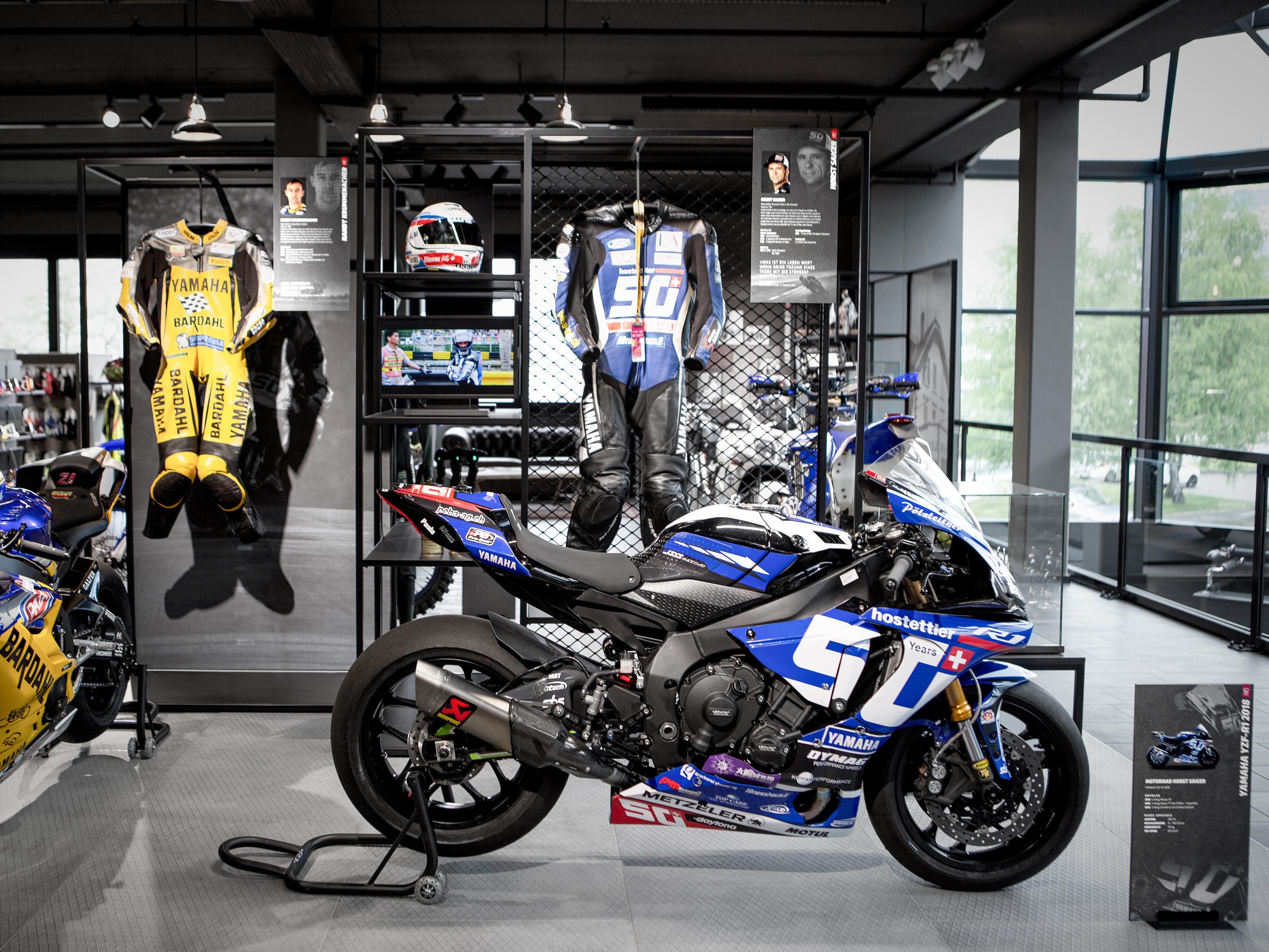 Hostettler Hall of Fame Motorbike