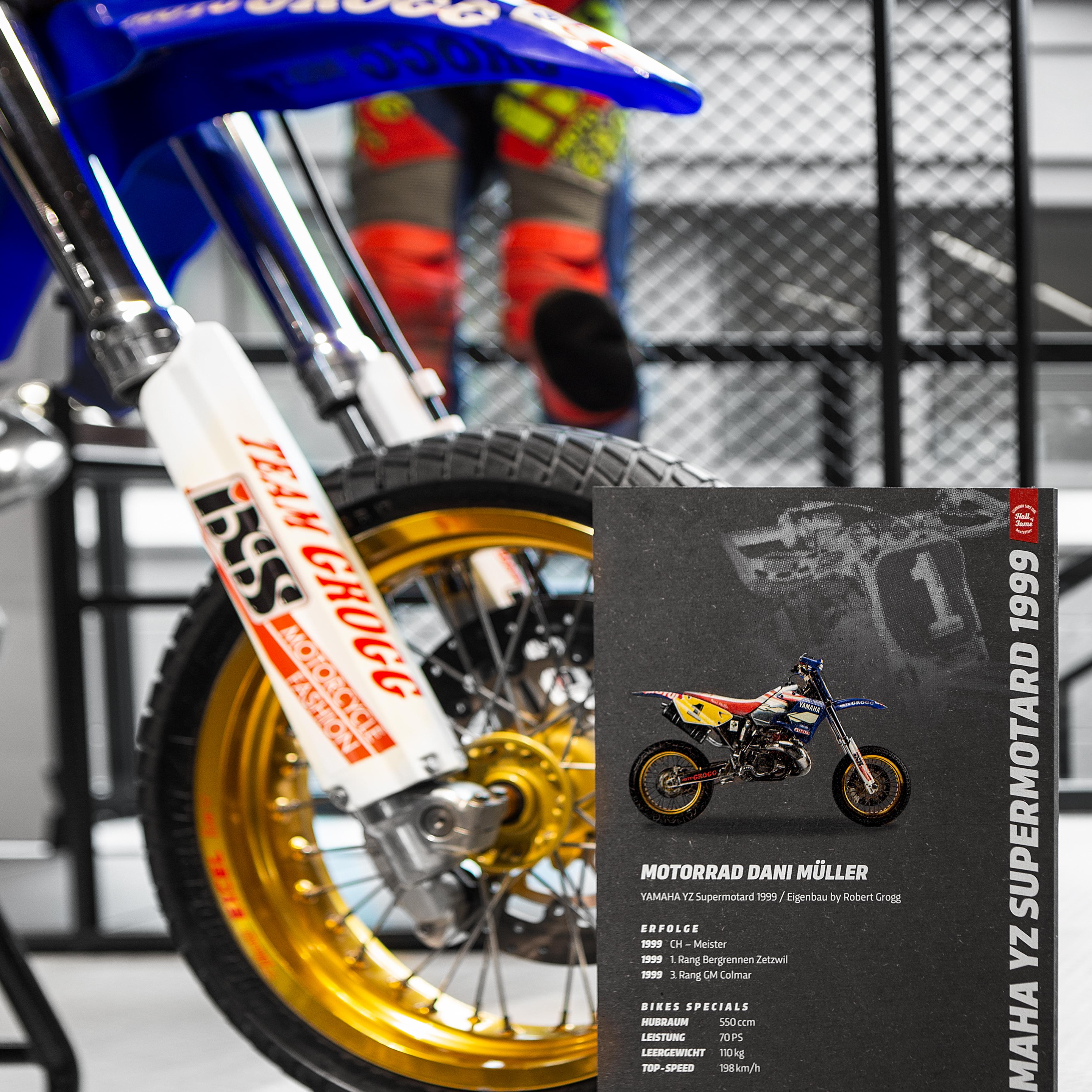 Hostettler Hall of Fame Motorrad Dani Müller