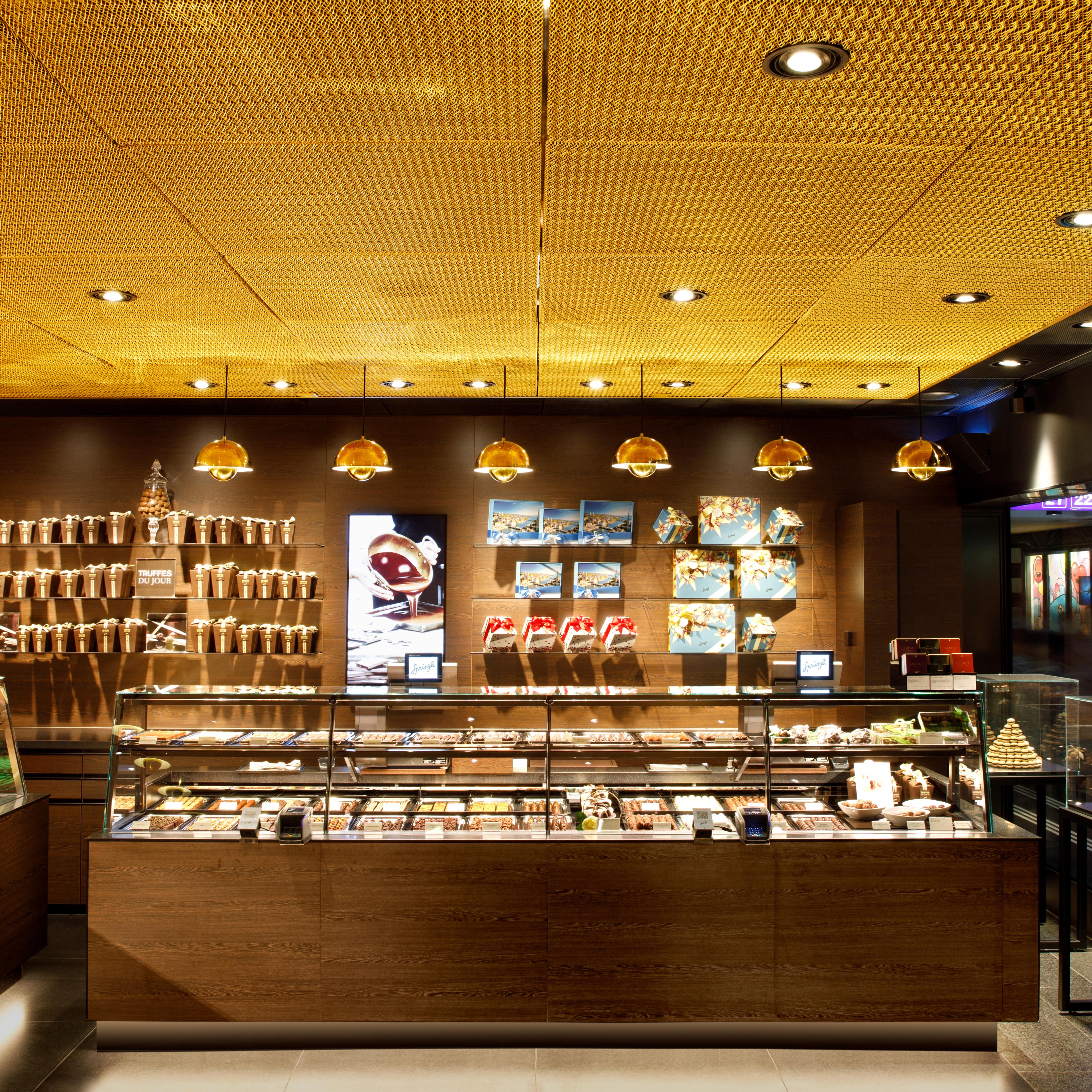 Confiserie Sprüngli Filiale Zürich HB Retail Design Interiordesign