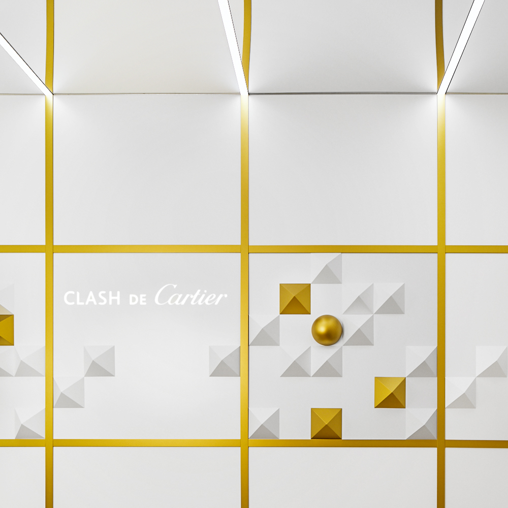 Clash de Cartier Eventdesign Raumkonzept