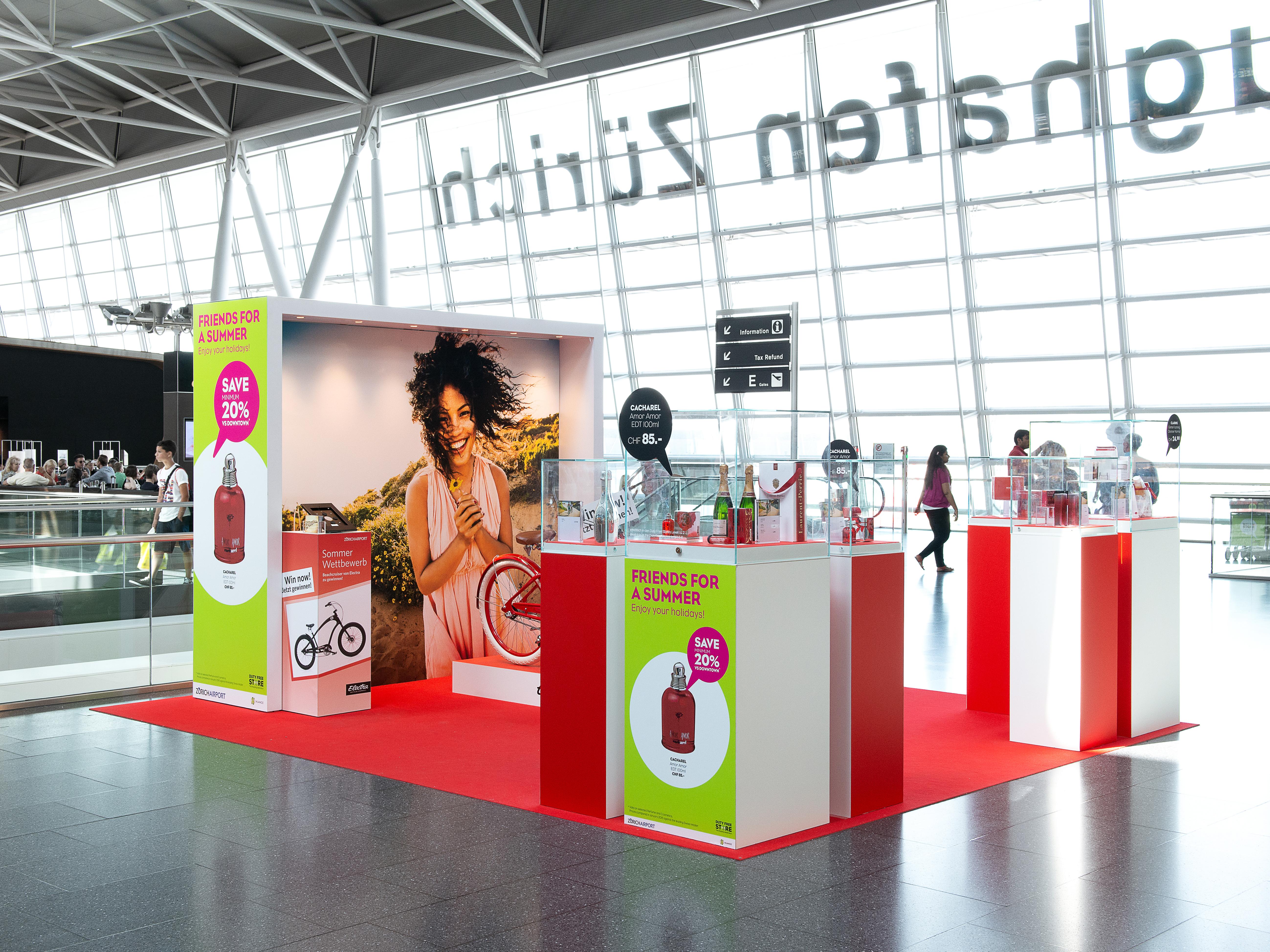 hauser & partner Promogate Flughafen