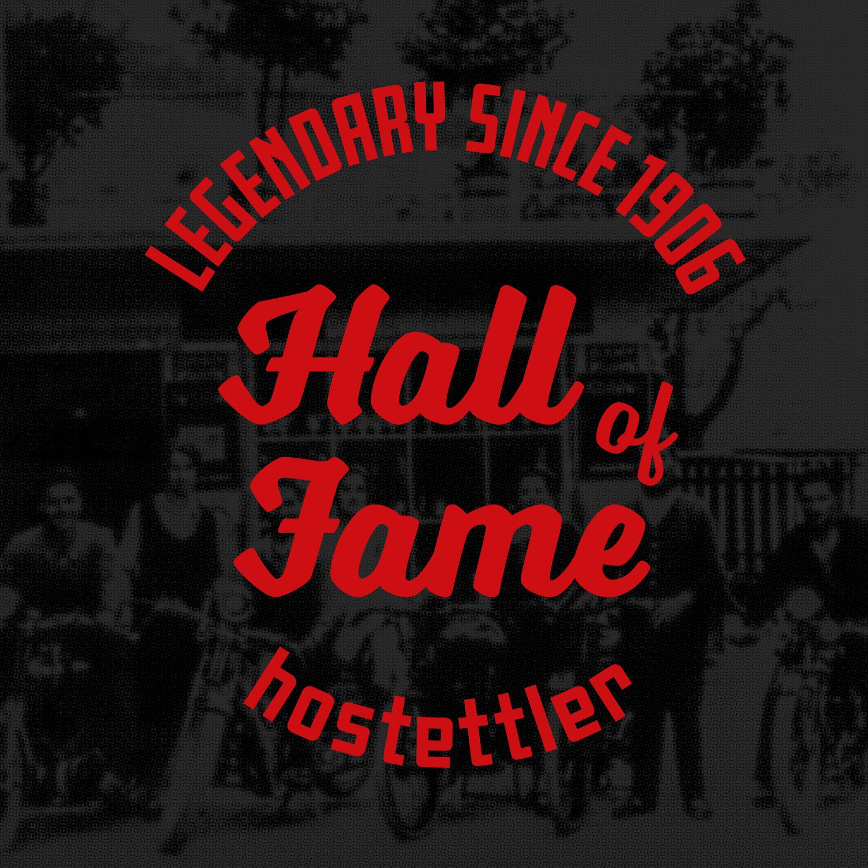 Hostettler Hall of Fame Sursee Museum Ausstellung Logodesign