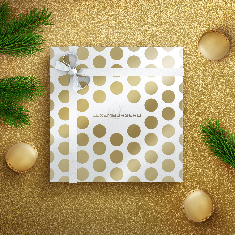 Confiserie Sprüngli Luxemburgerli Weihnachten Verpackungsdesign Packaging Design