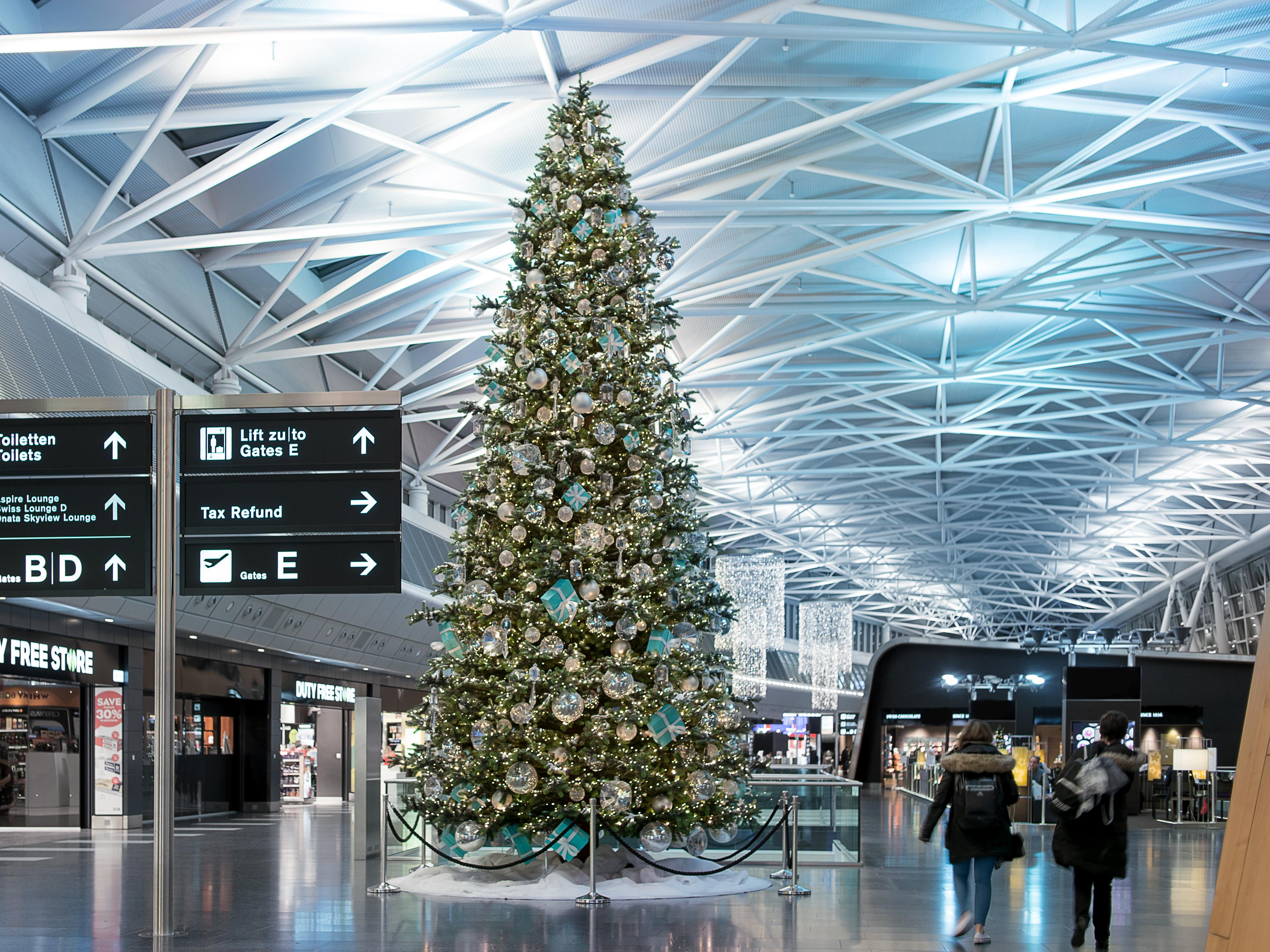 Flughafen Weihnachten