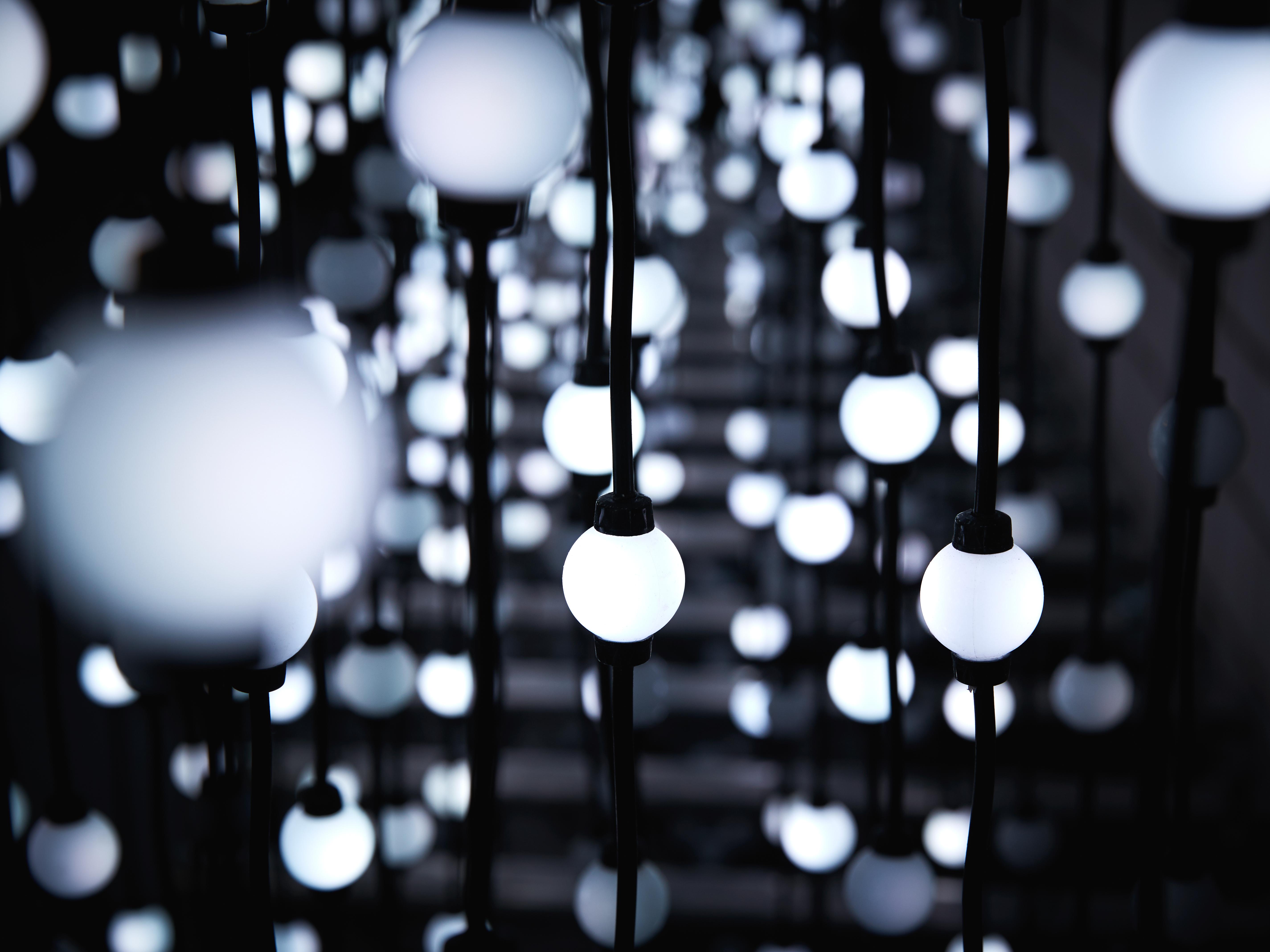 hauser & partner LED Lichtervorhang